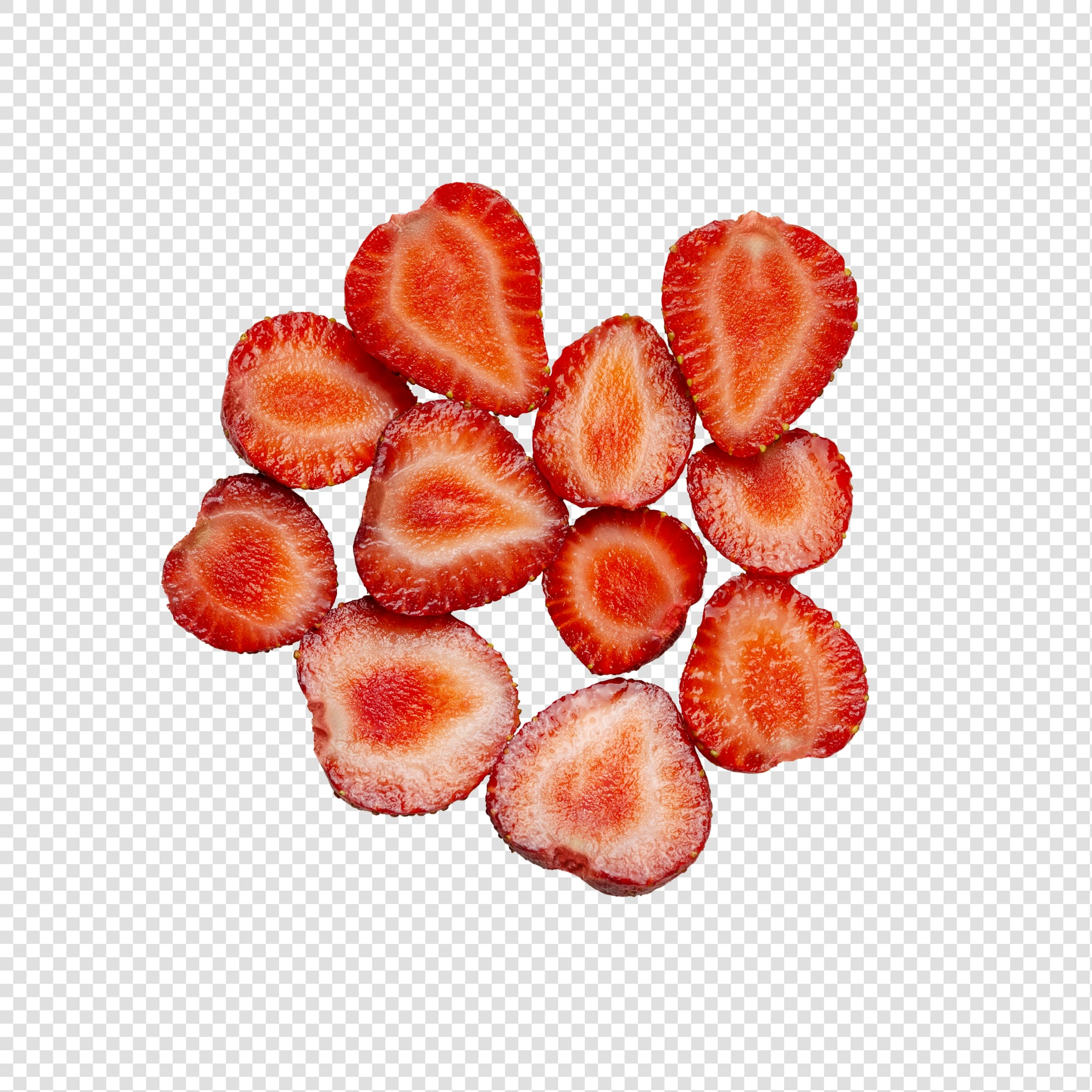 PSD Layered Strawberry image