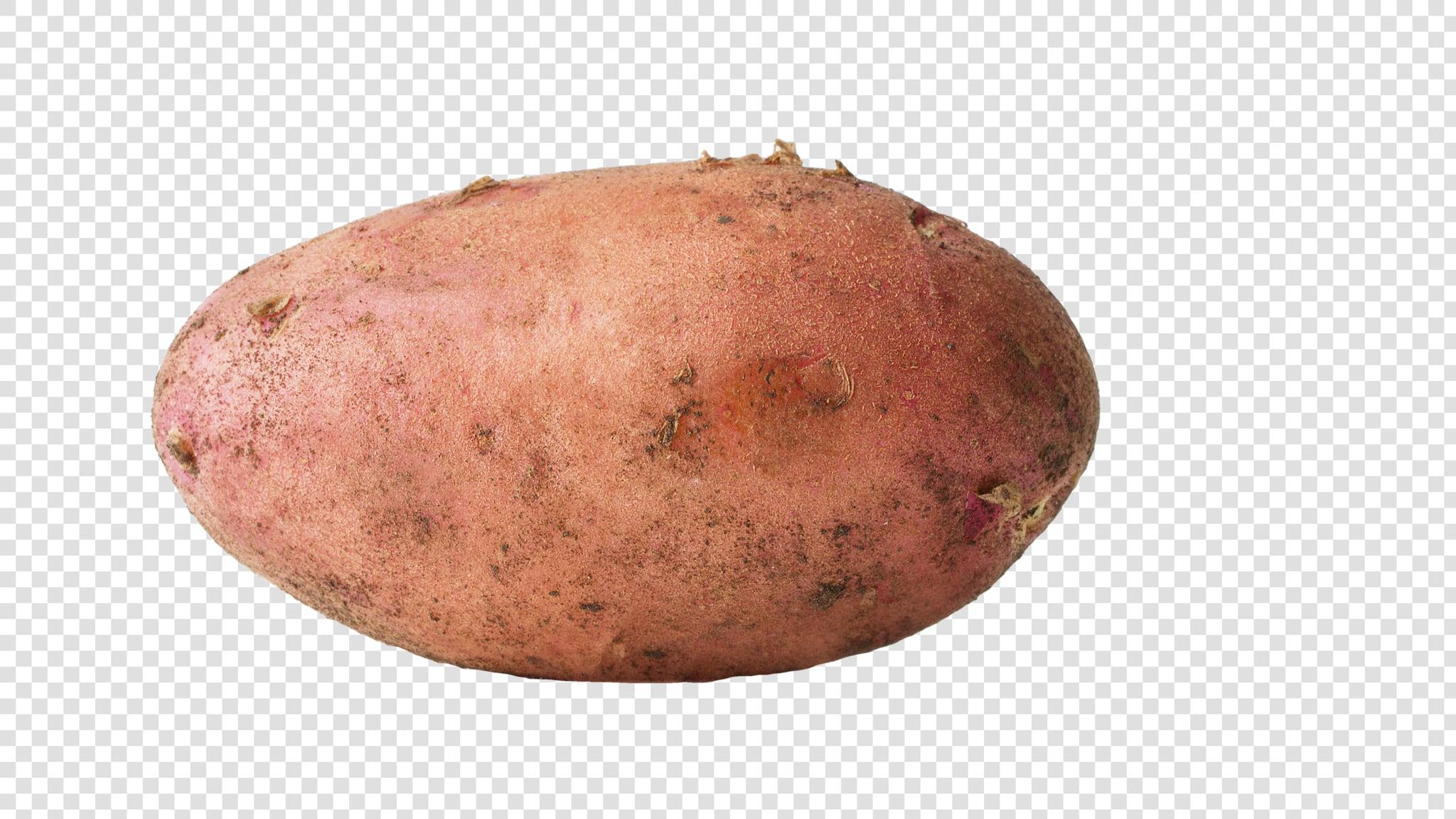 Potato PSD isolated image
