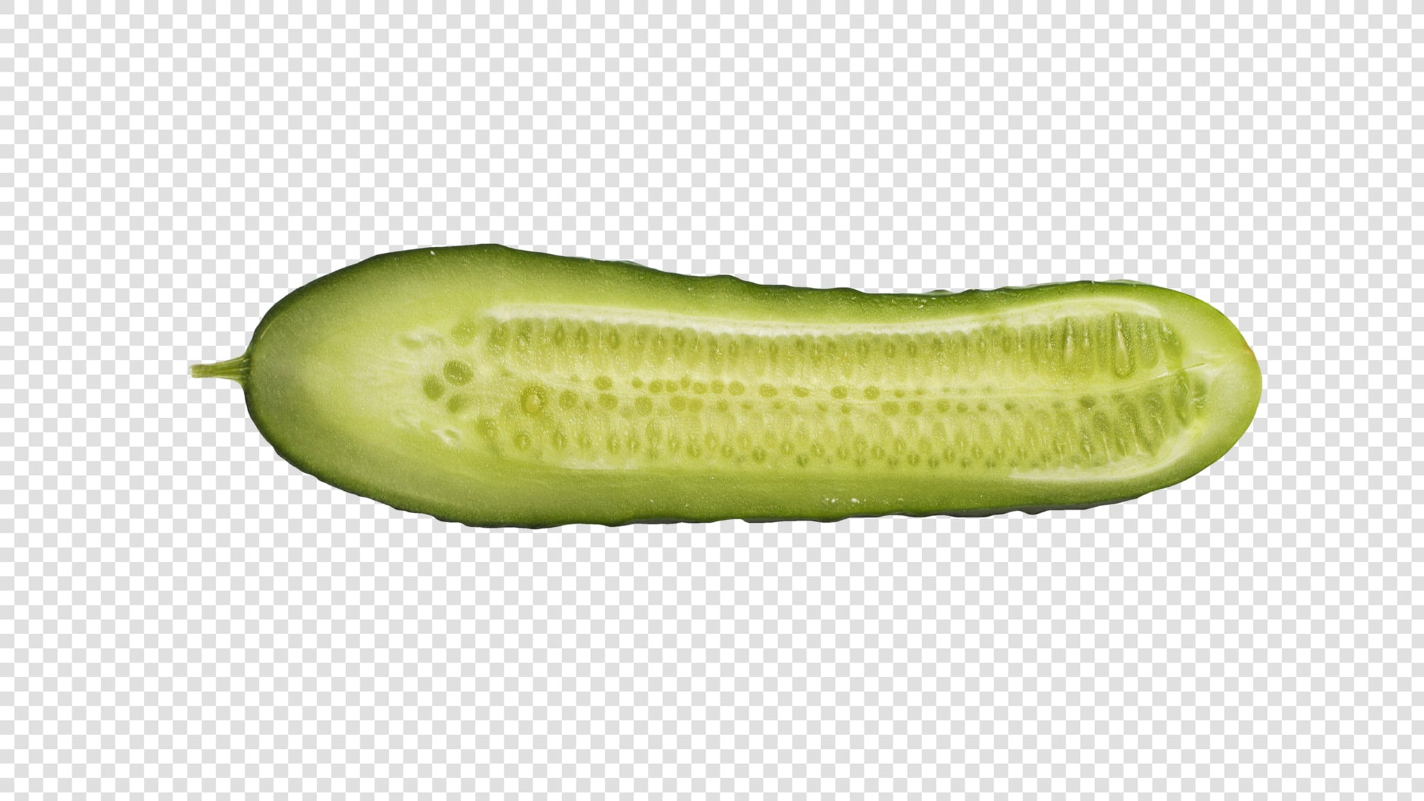 Cucumber image asset with transparent background