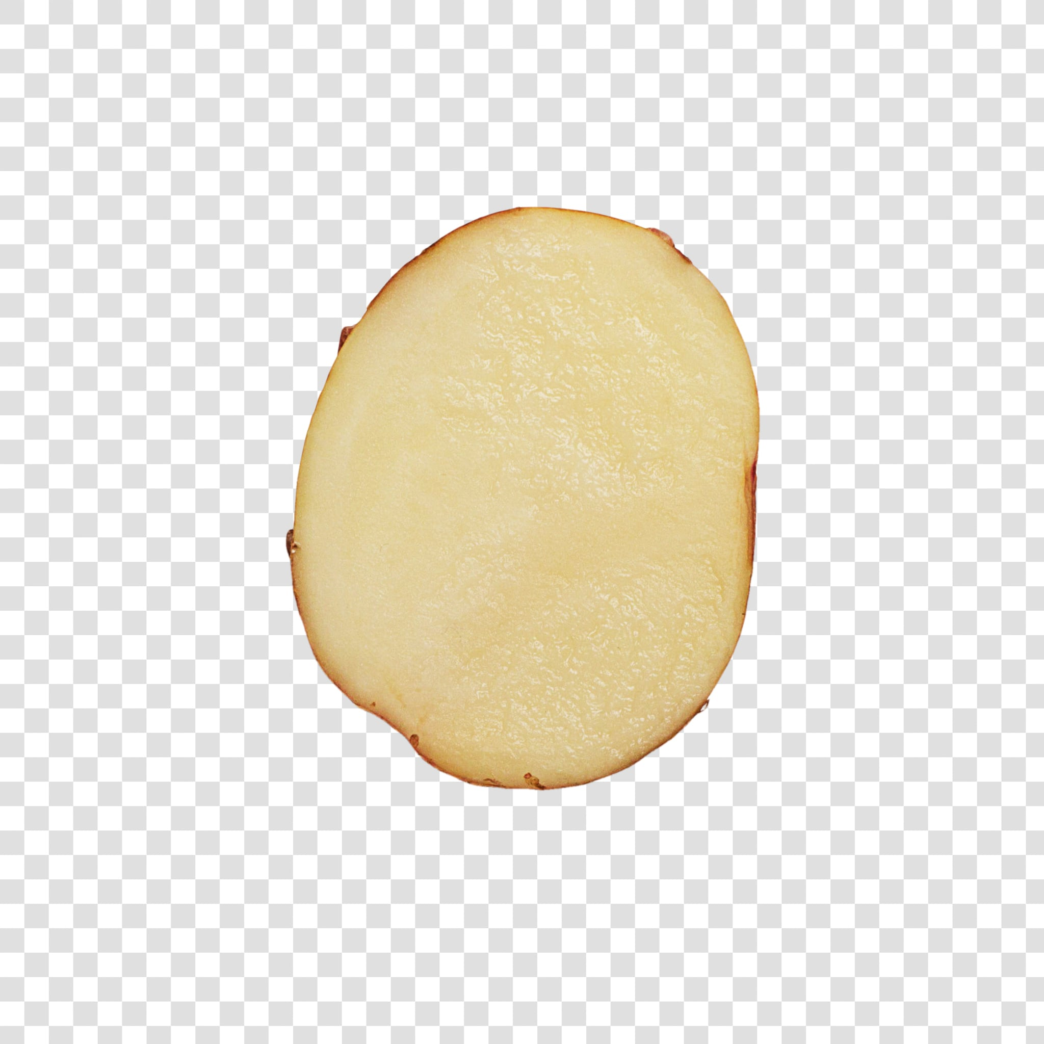 Potato image with transparent background