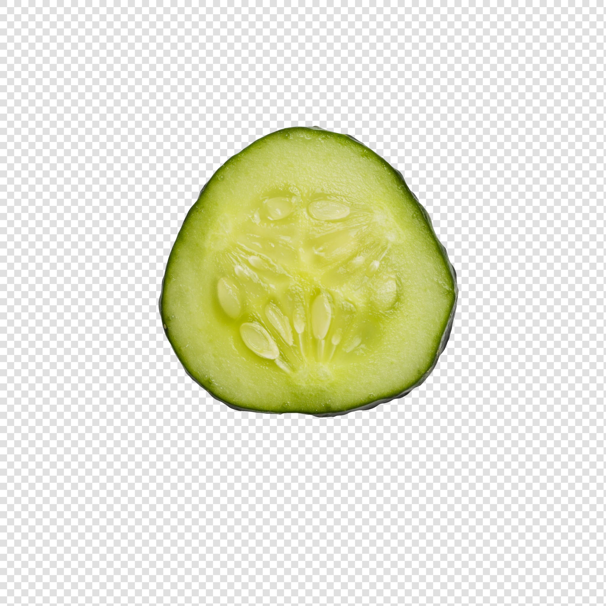 Cucumber image with transparent background