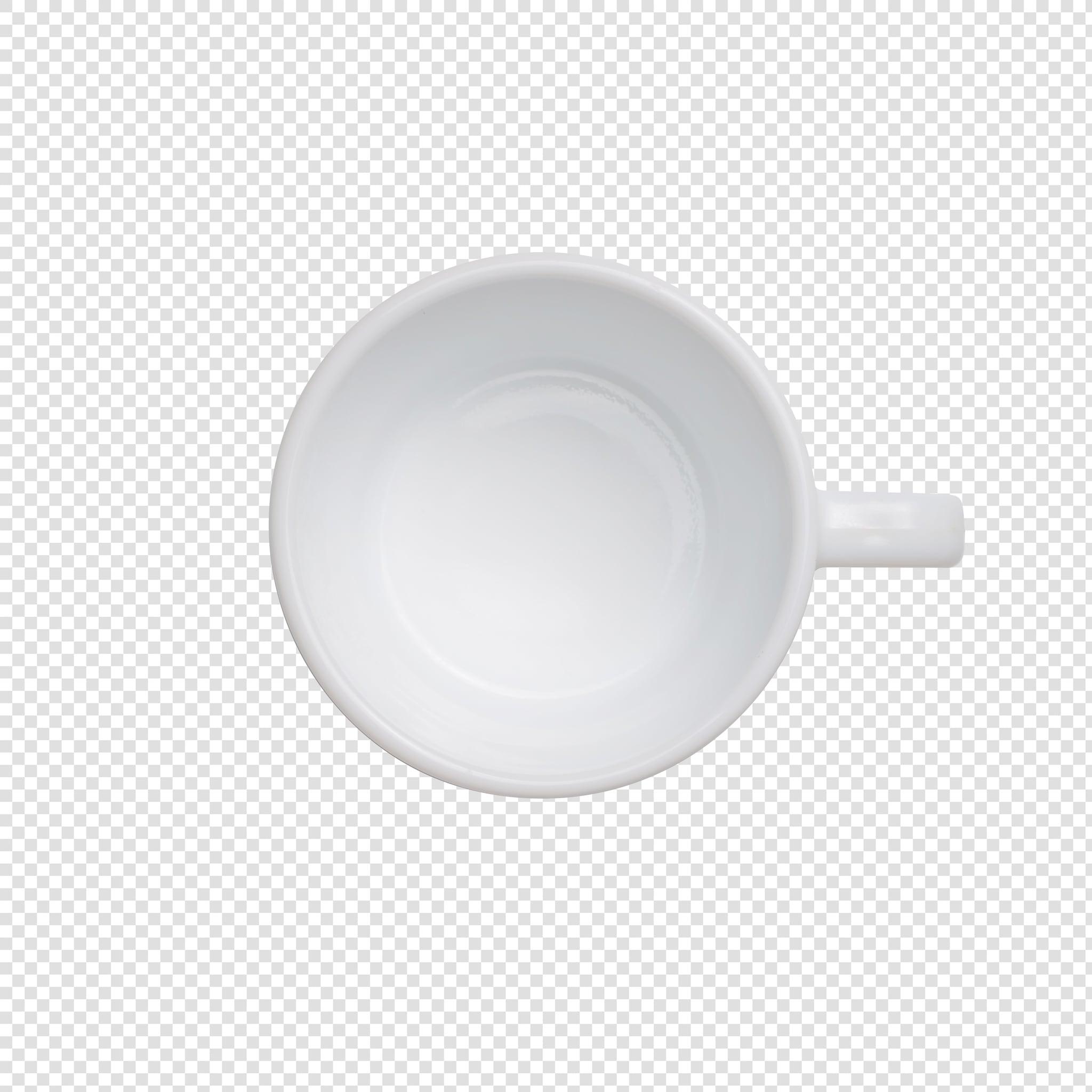 Mug image asset with transparent background