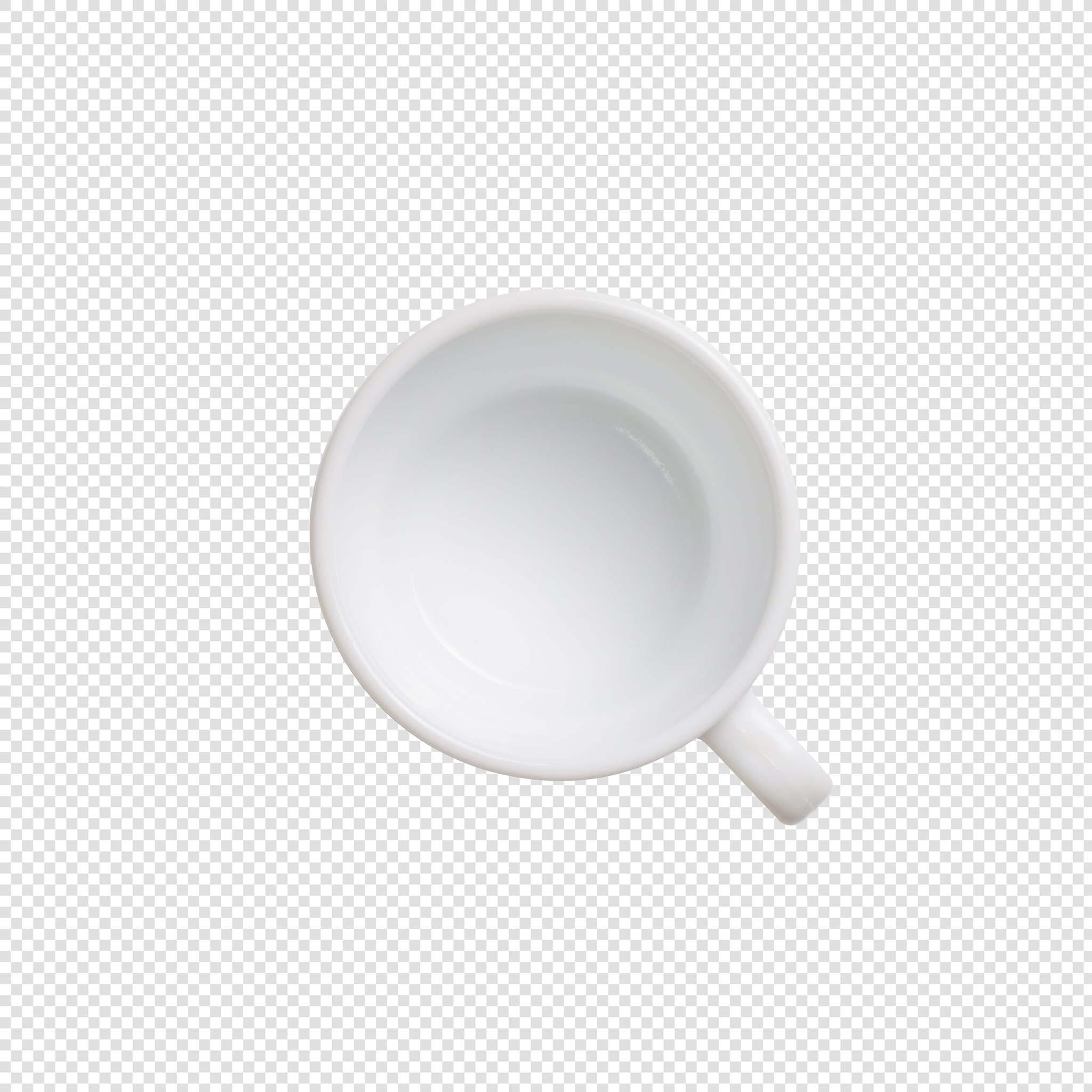 Mug PSD image with transparent background