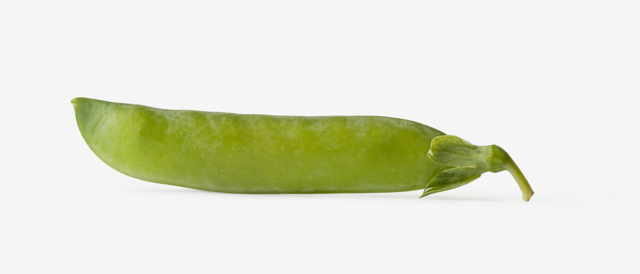 Green pea PSD isolated image