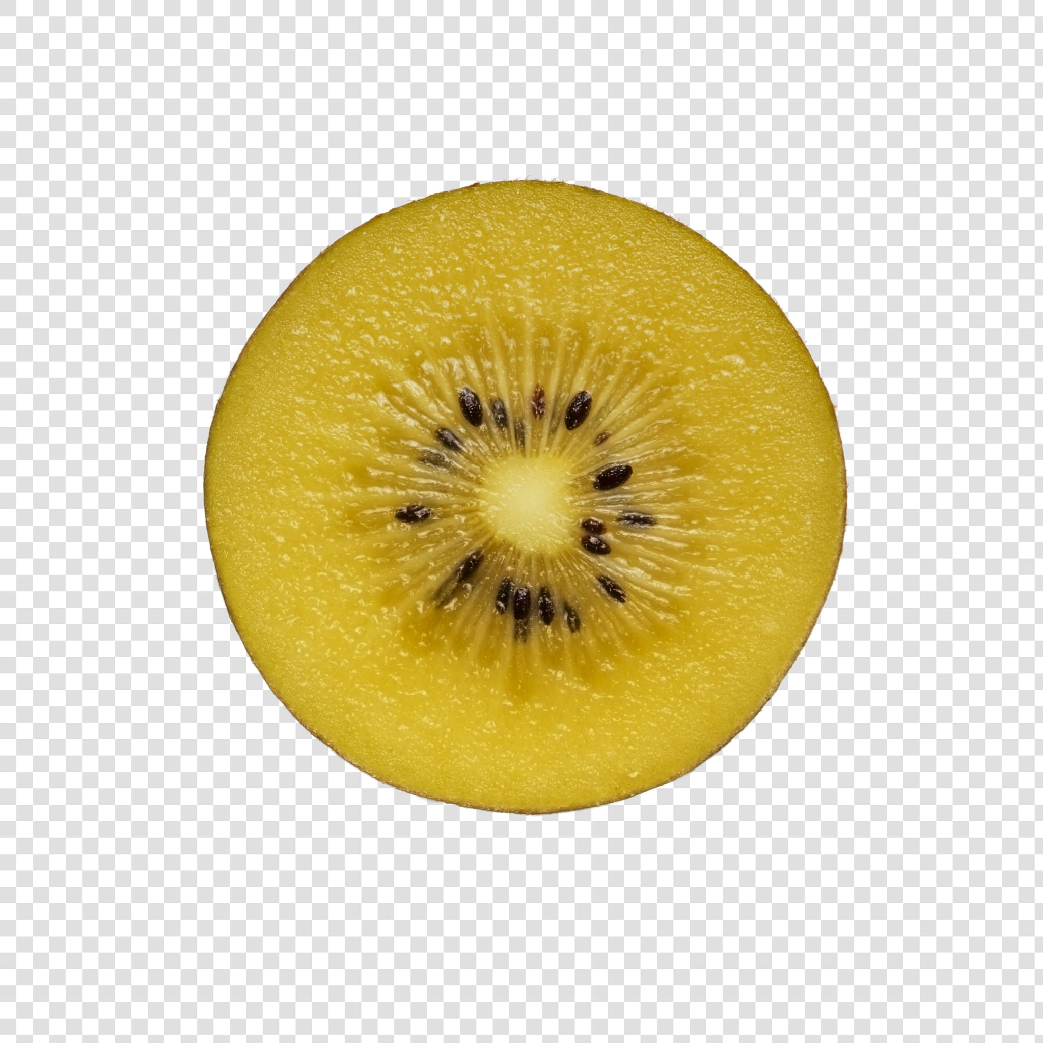 Kiwi PSD image with transparent background