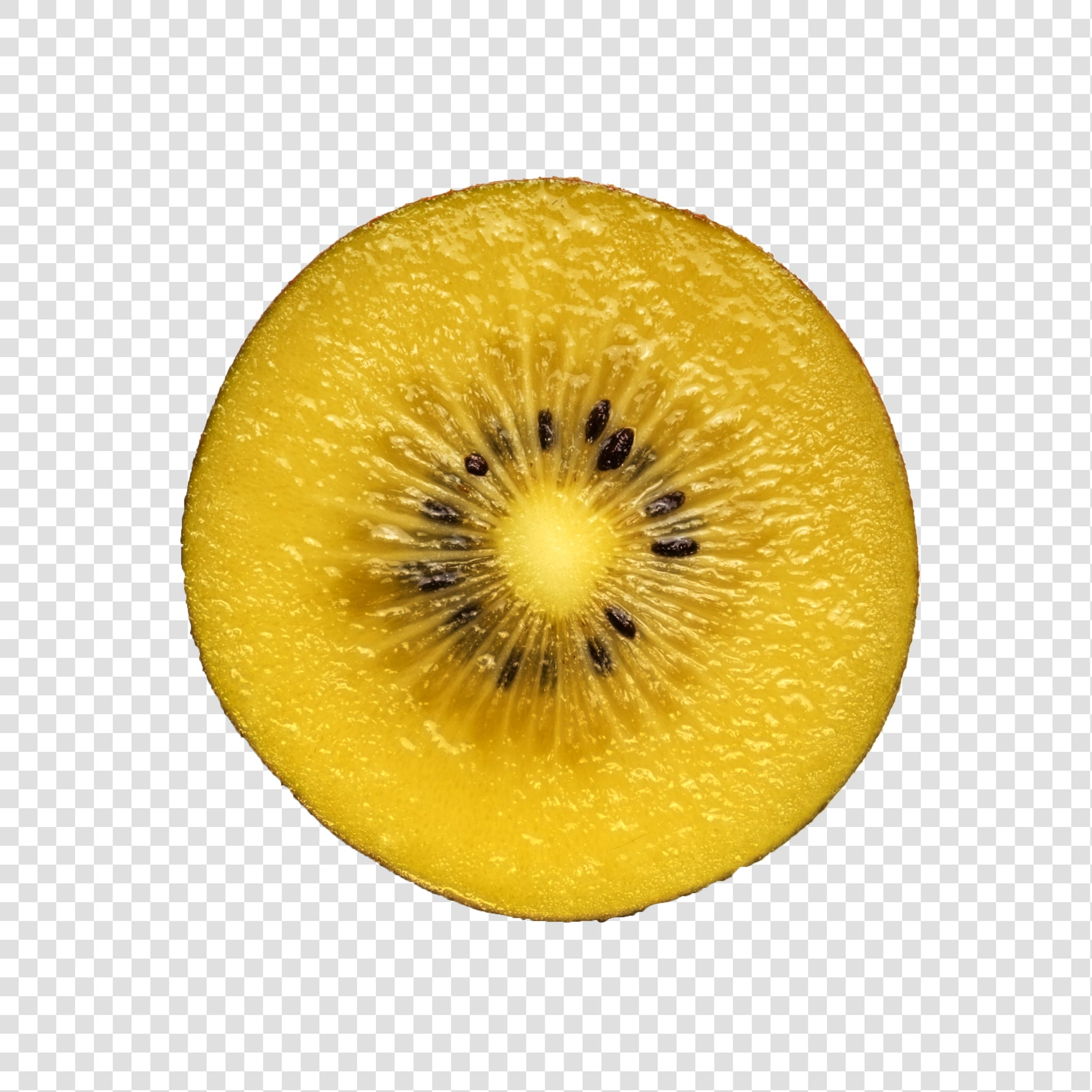 Kiwi PSD isolated image