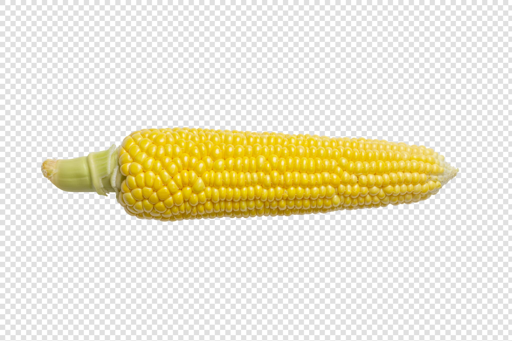 Isolated Ear of corn psd image