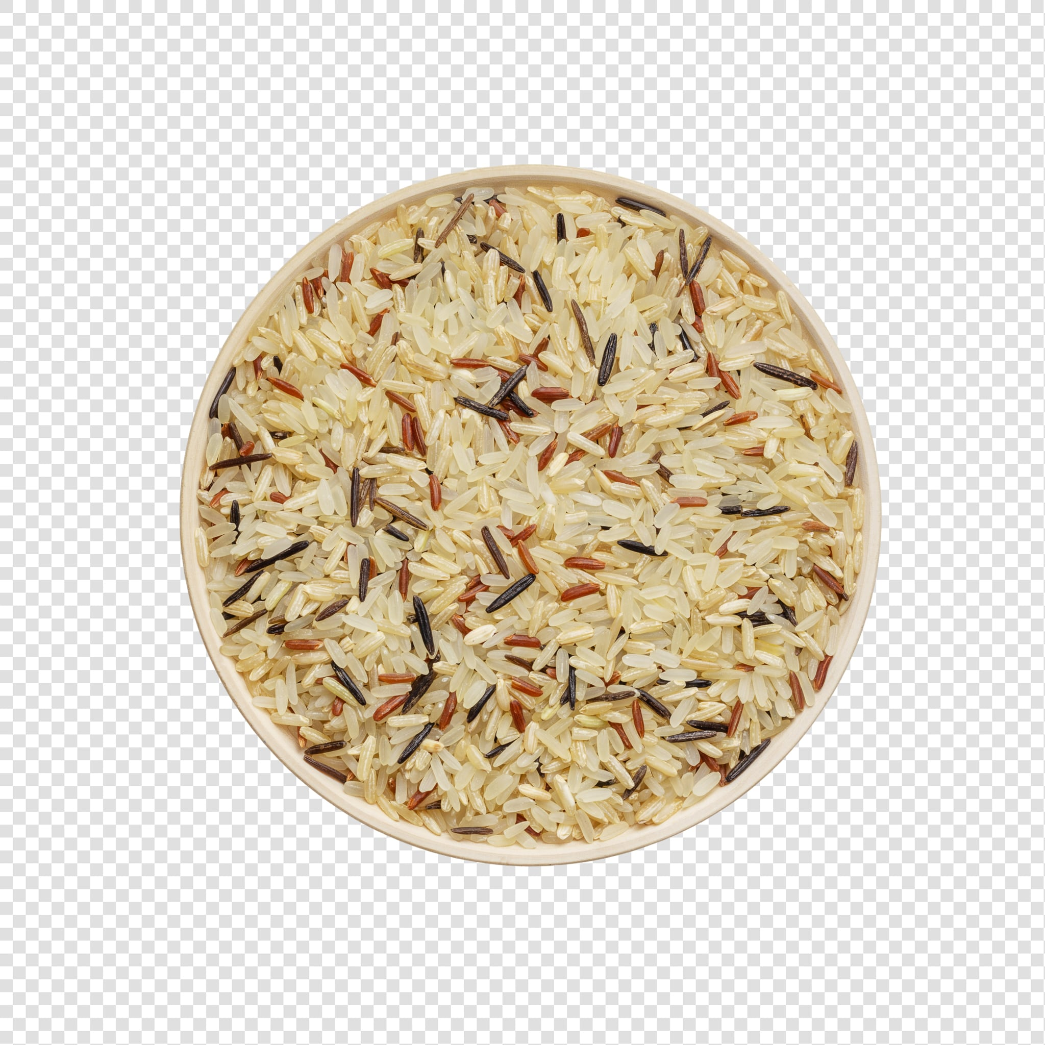 Isolated Rice psd image