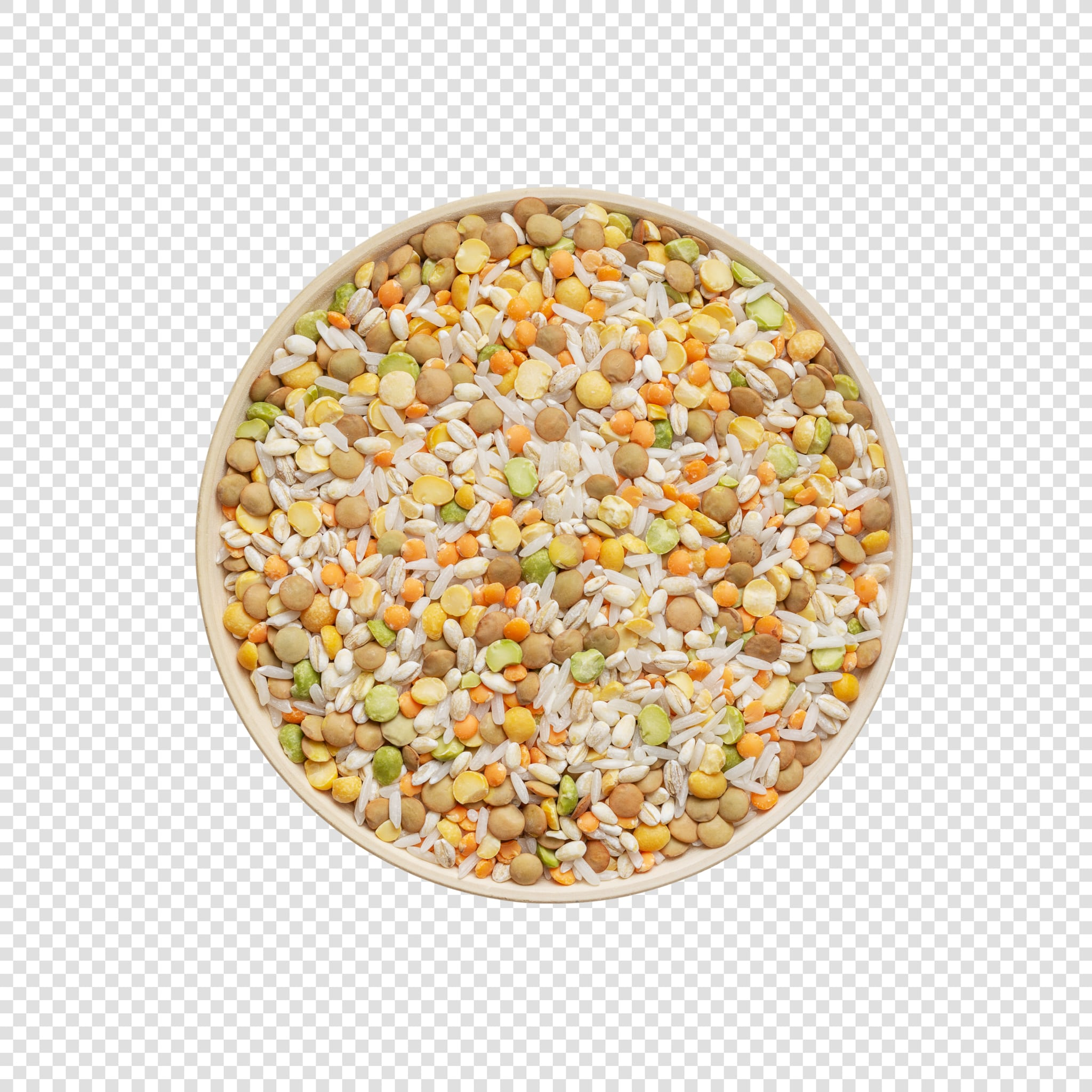 Isolated Grains psd image