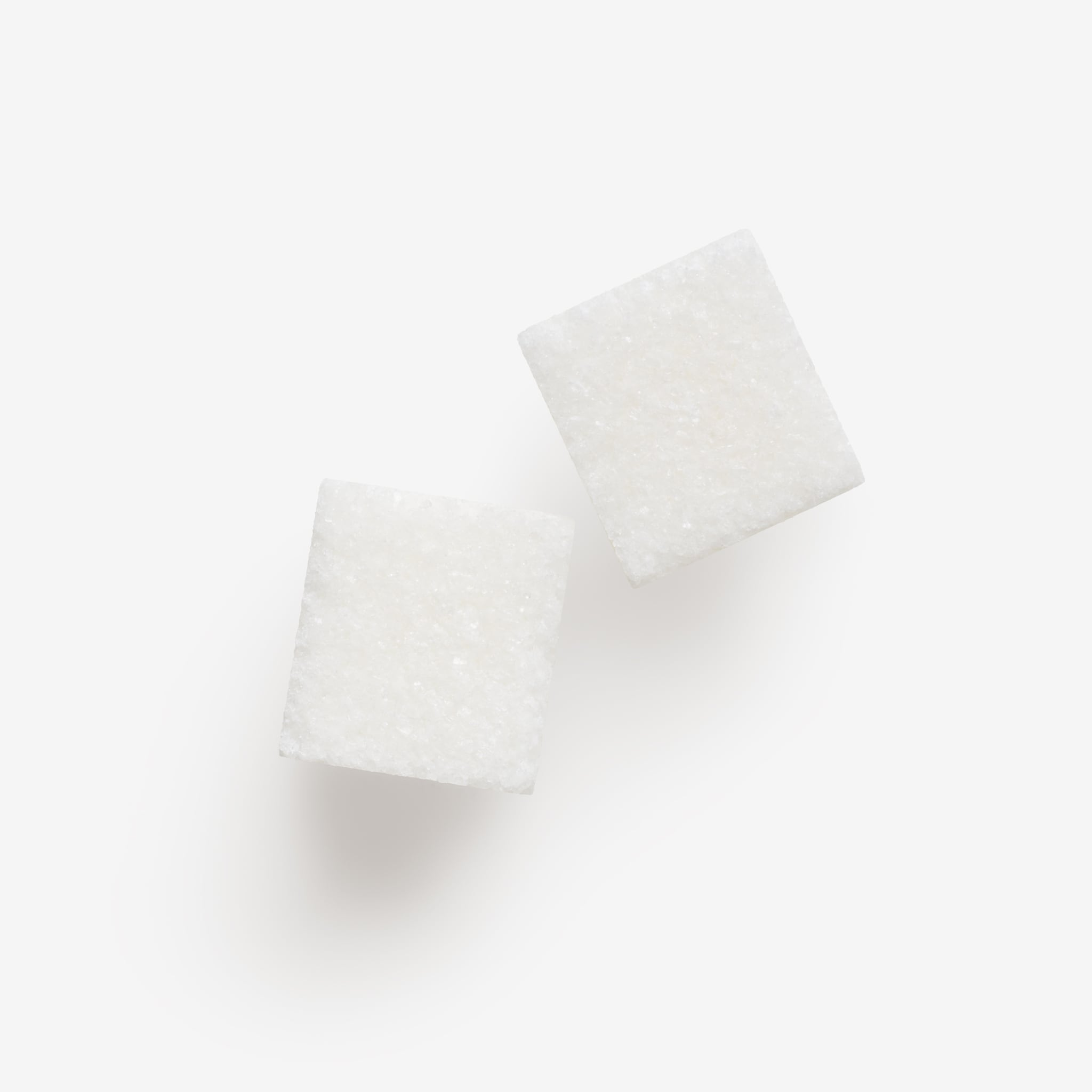 Clean Isolated PSD image of Sugar on transparent background with separated shadow