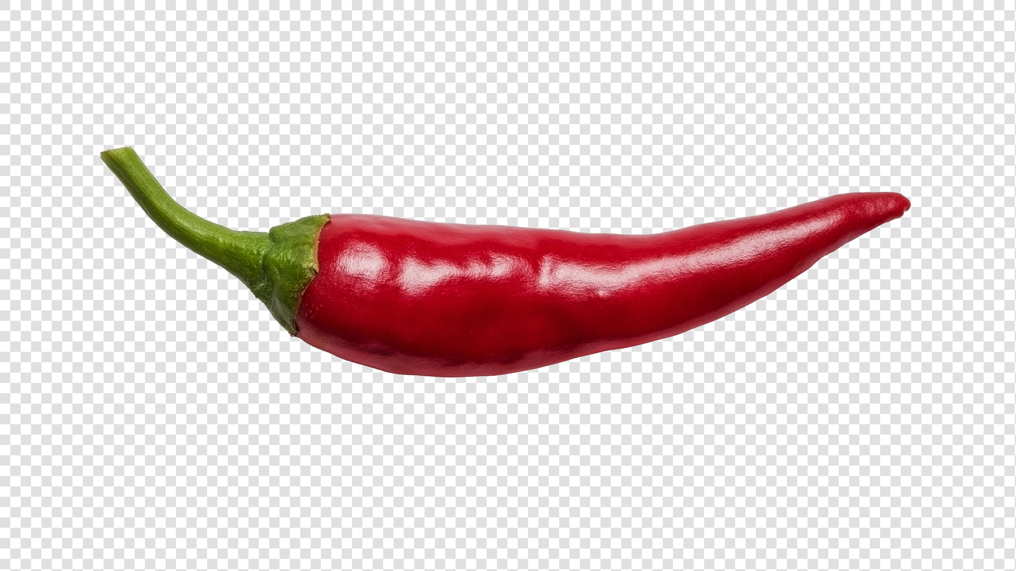 Pepper PSD image with transparent background