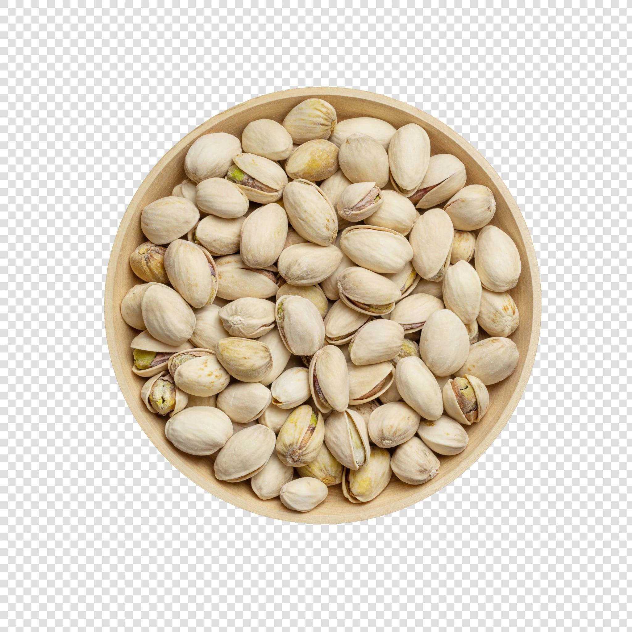 Pistachios PSD image on transparent background