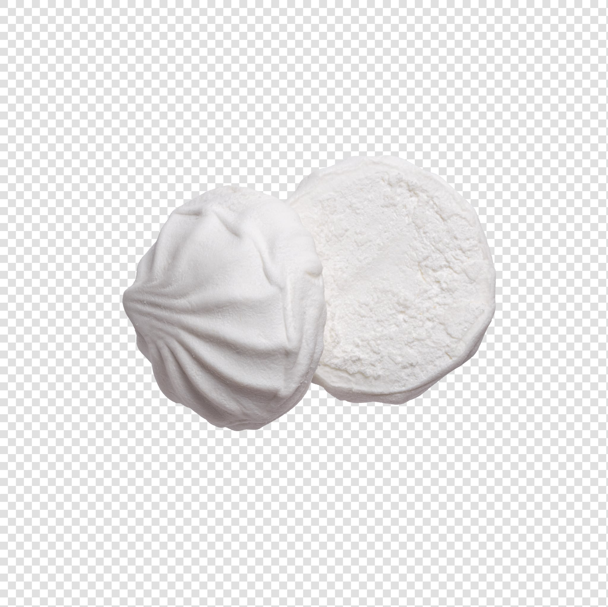 Marshmallow PSD isolated image