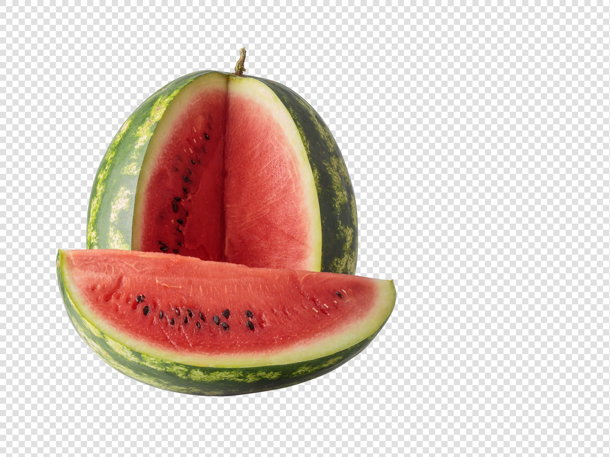 Watermelon image with transparent background