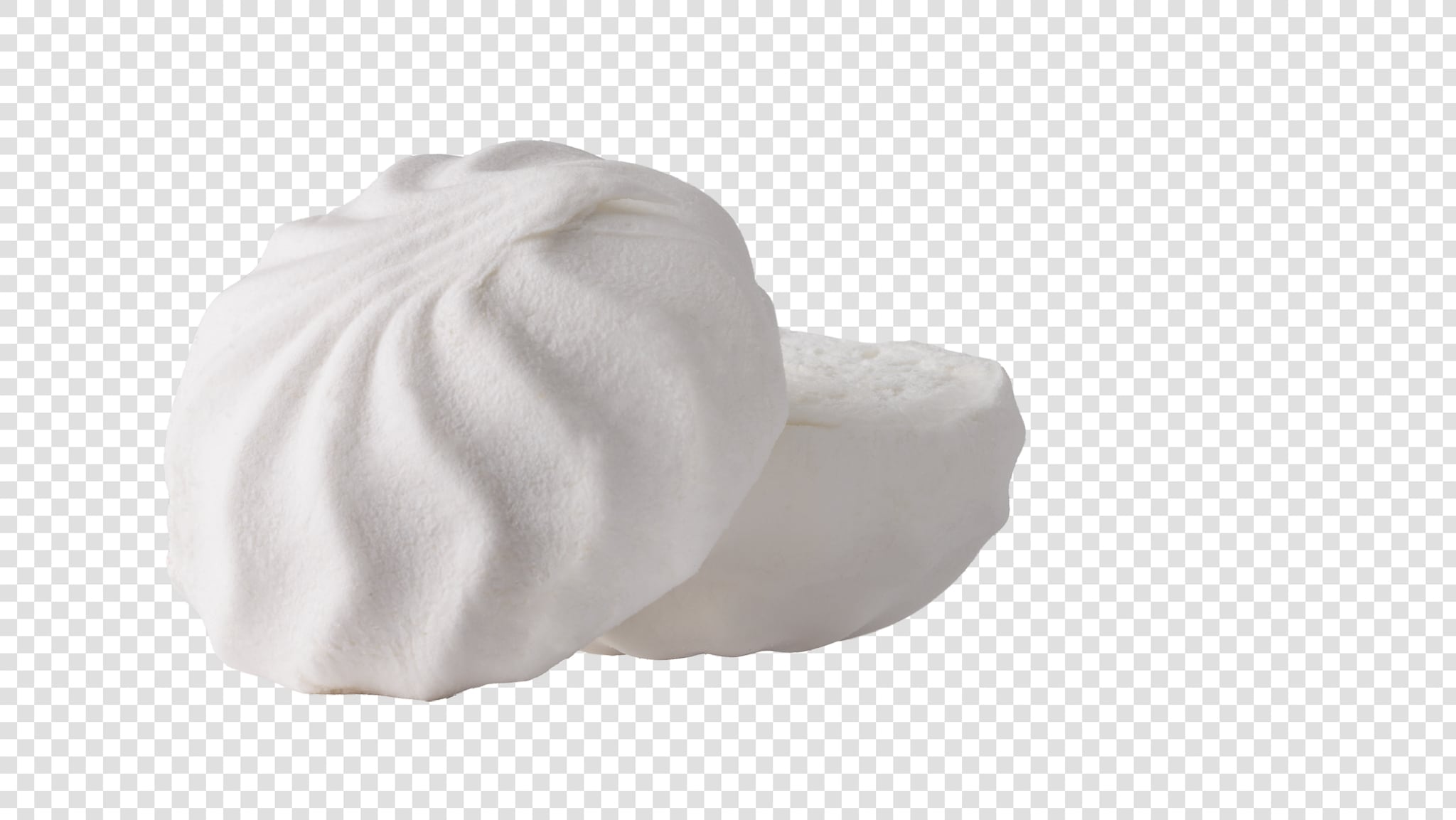 Marshmallow image with transparent background
