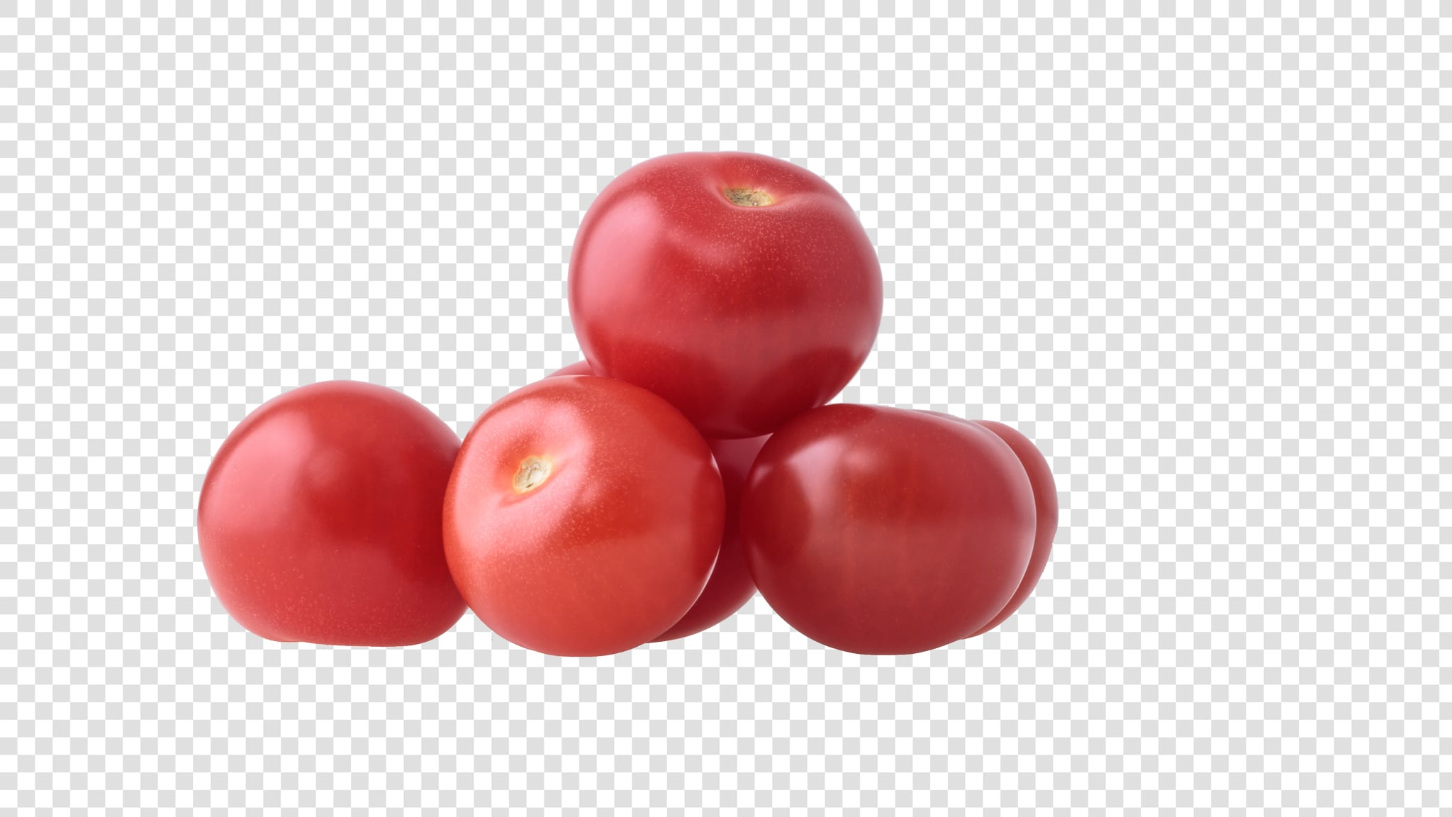 Cherry image asset with transparent background