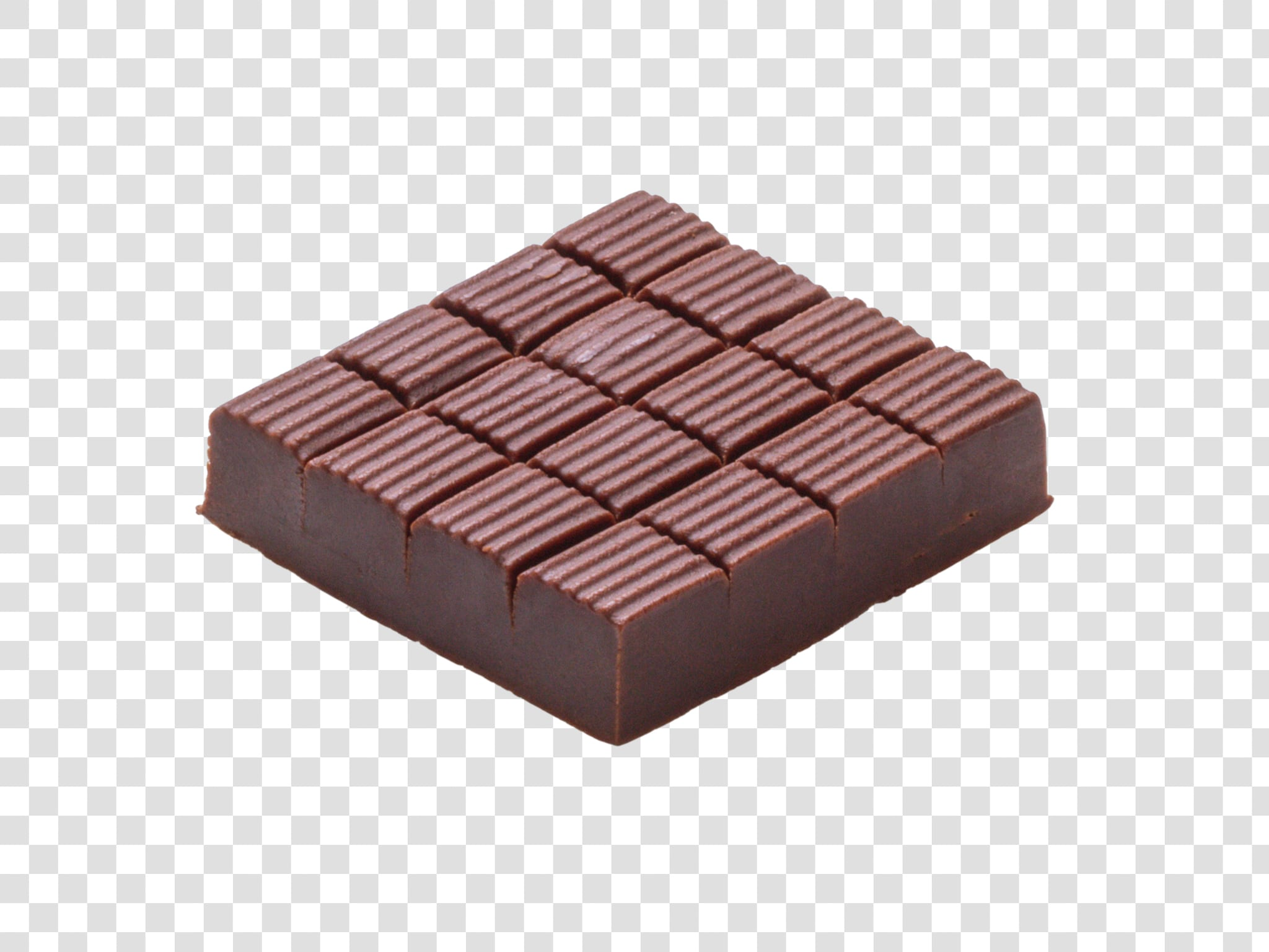 Chocolate image with transparent background