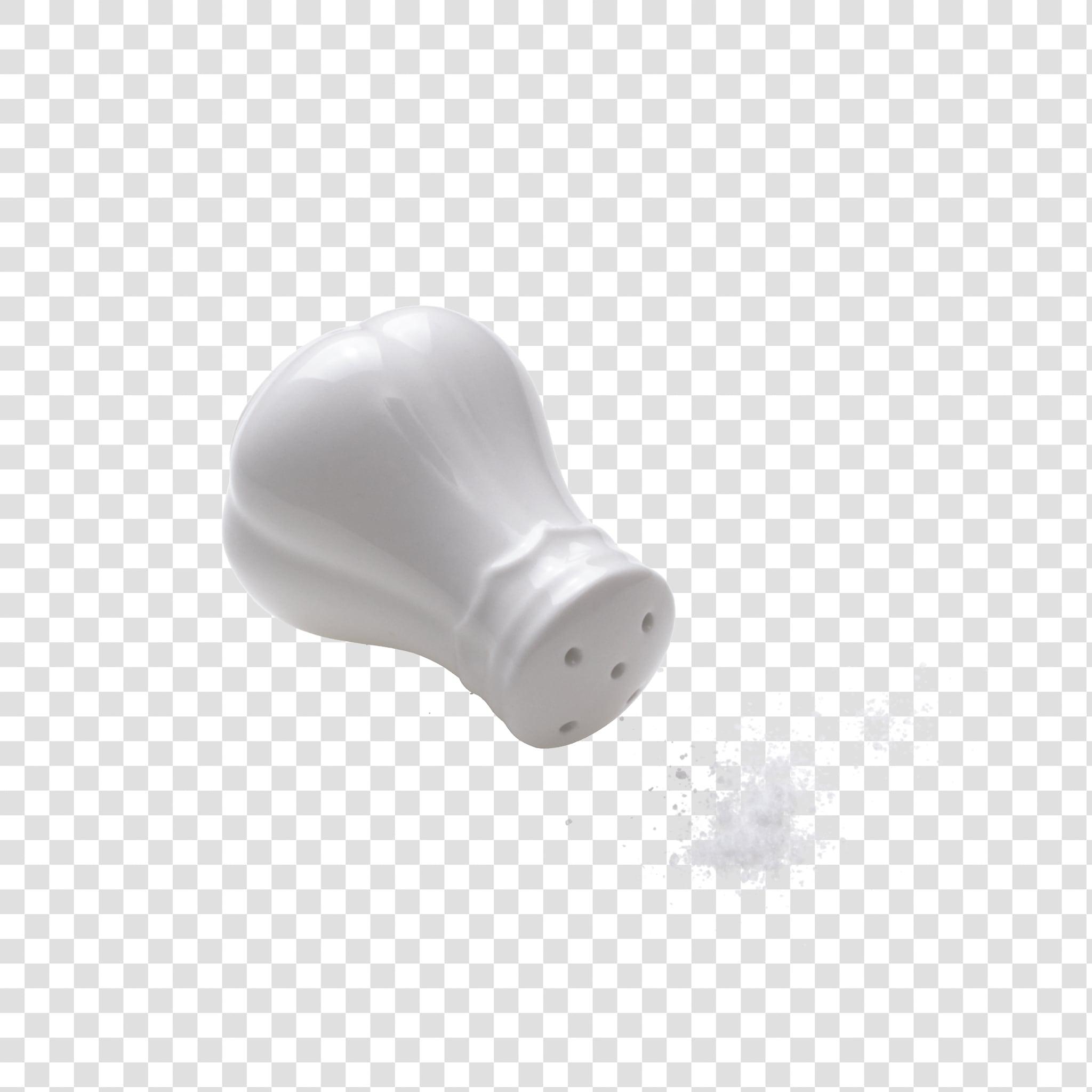 Salt shaker PSD layered image