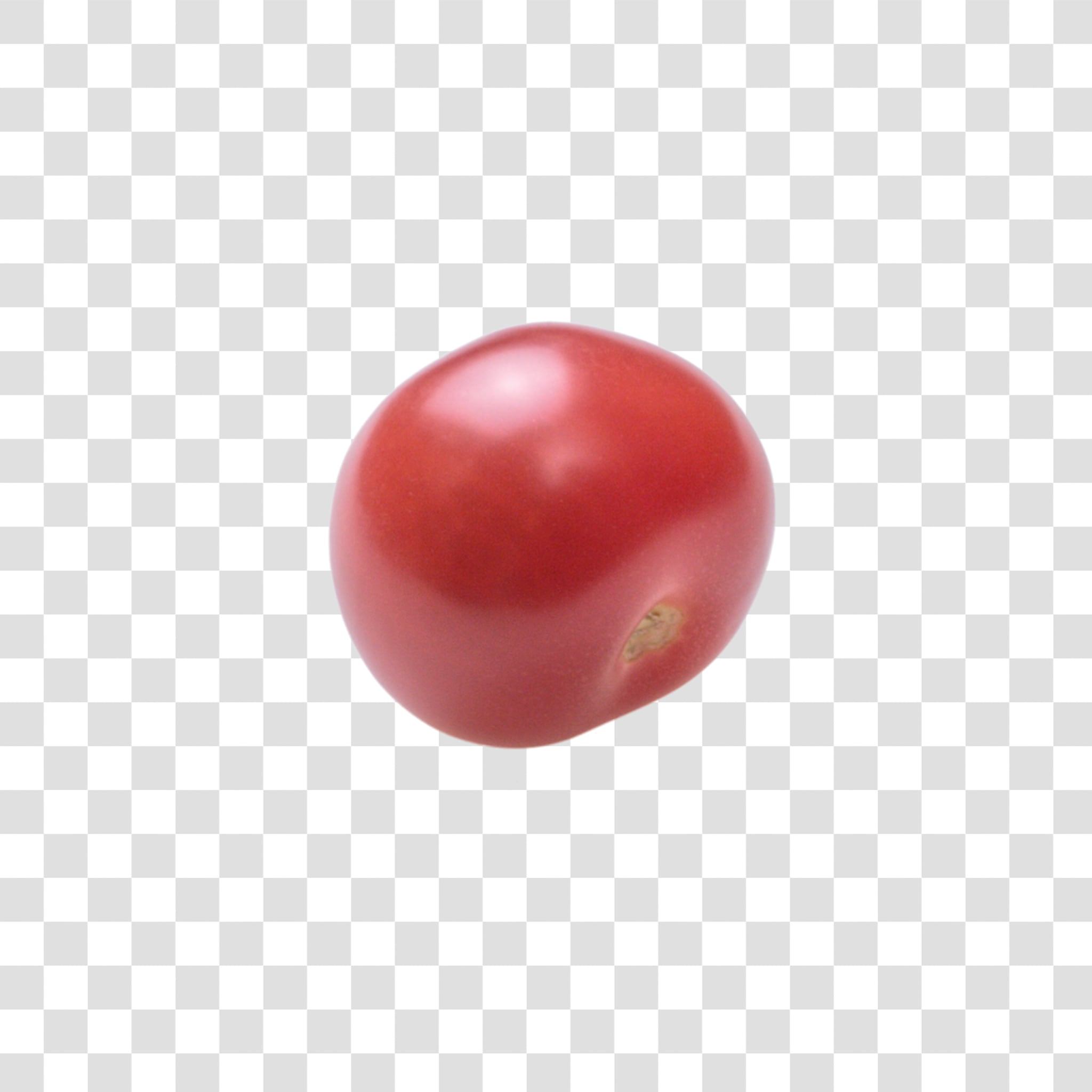 Tomato image with transparent background