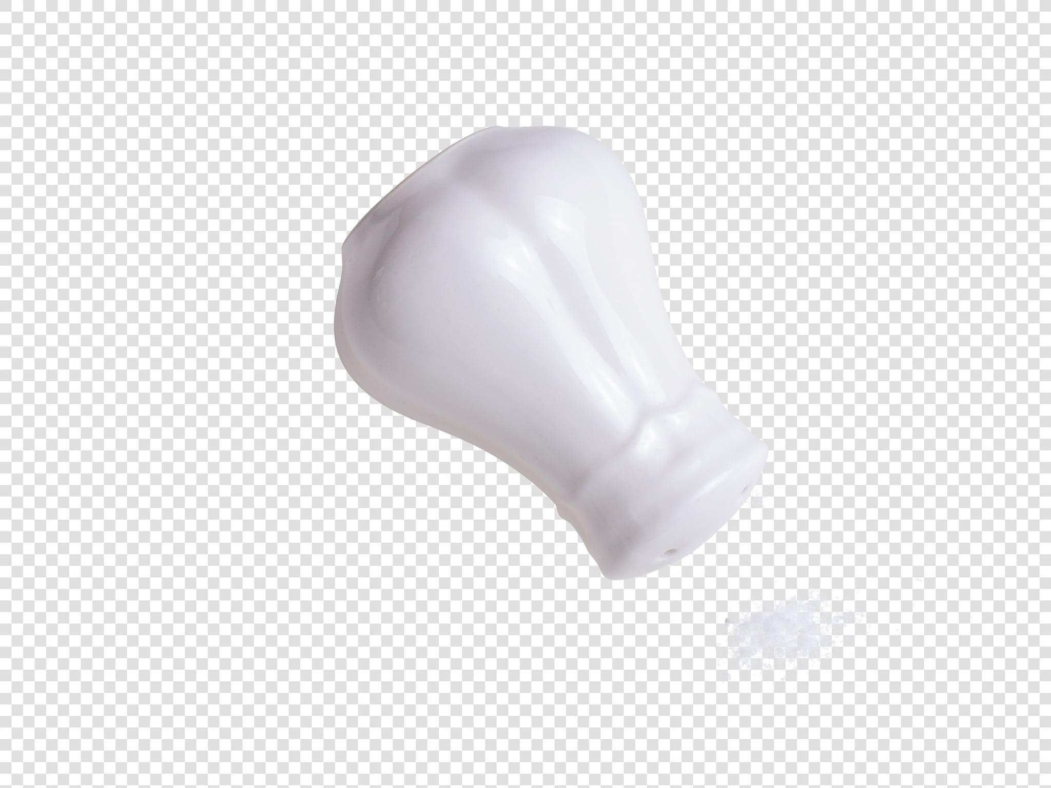 Salt shaker PSD isolated image