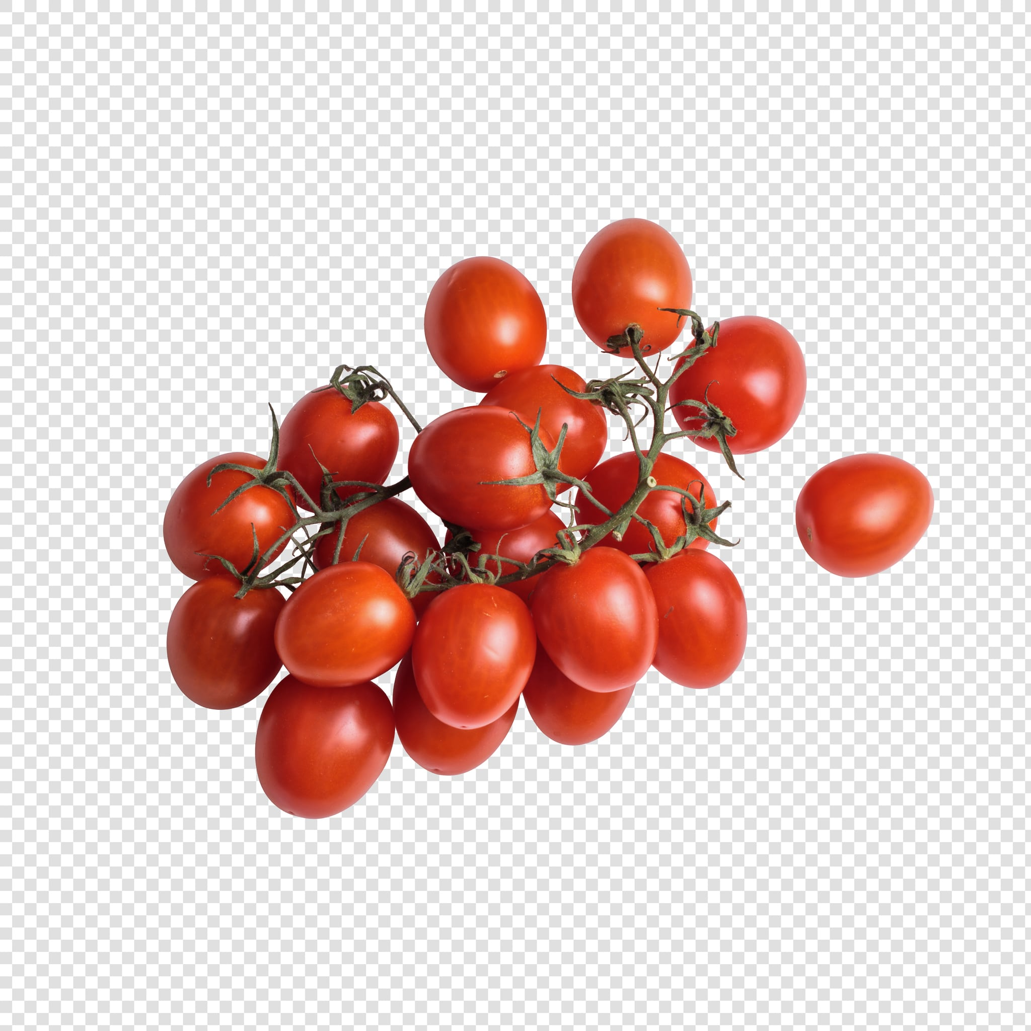 Cherry PSD isolated image