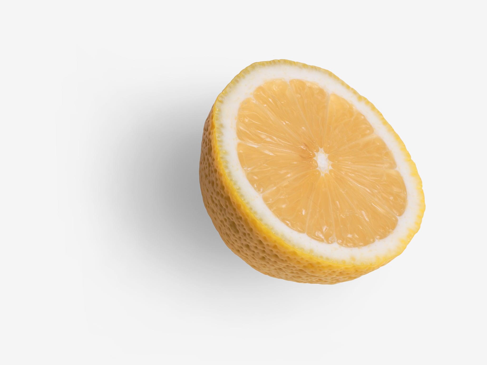 Lemon PSD isolated image