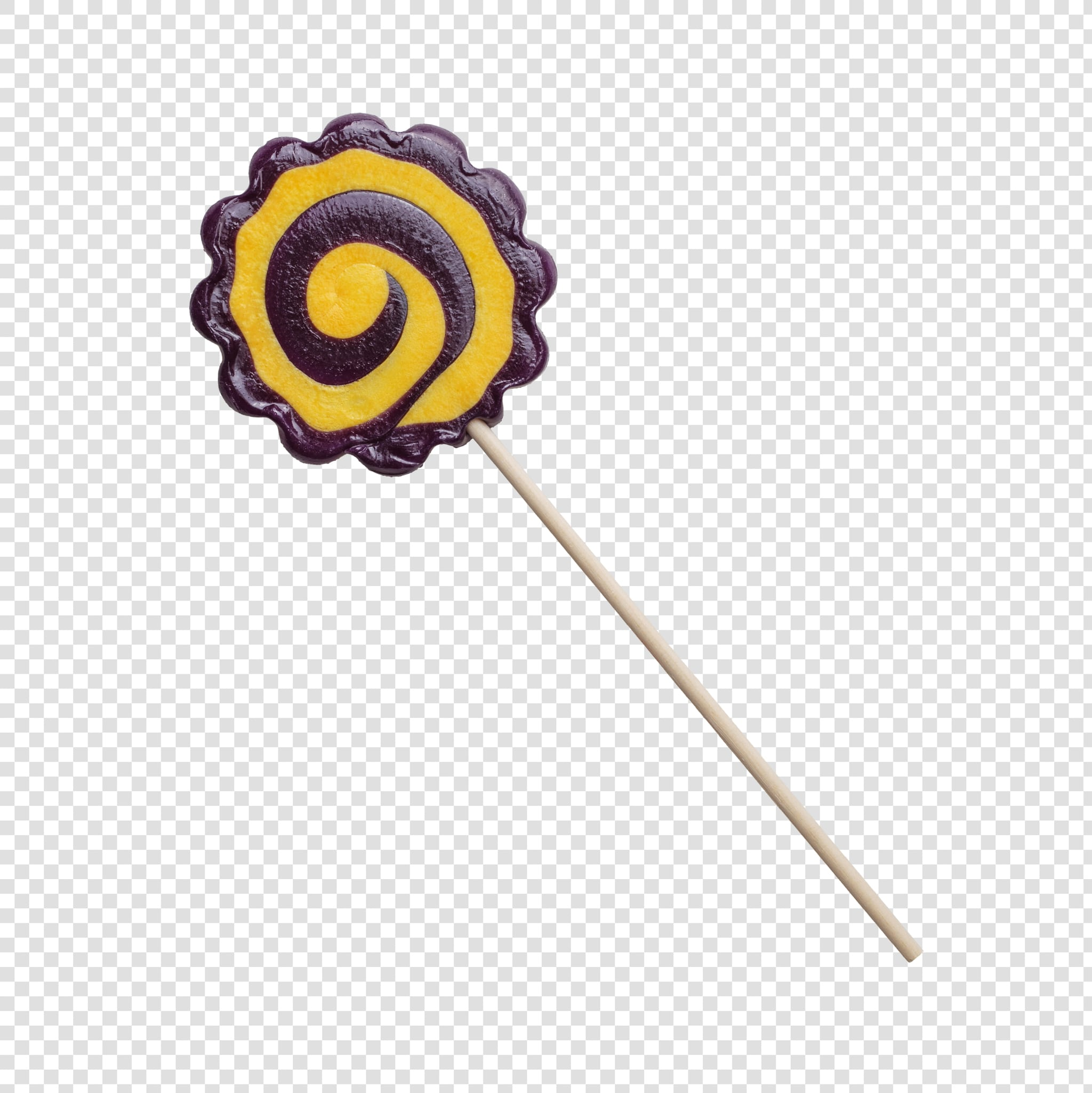 Lollipop PSD isolated image