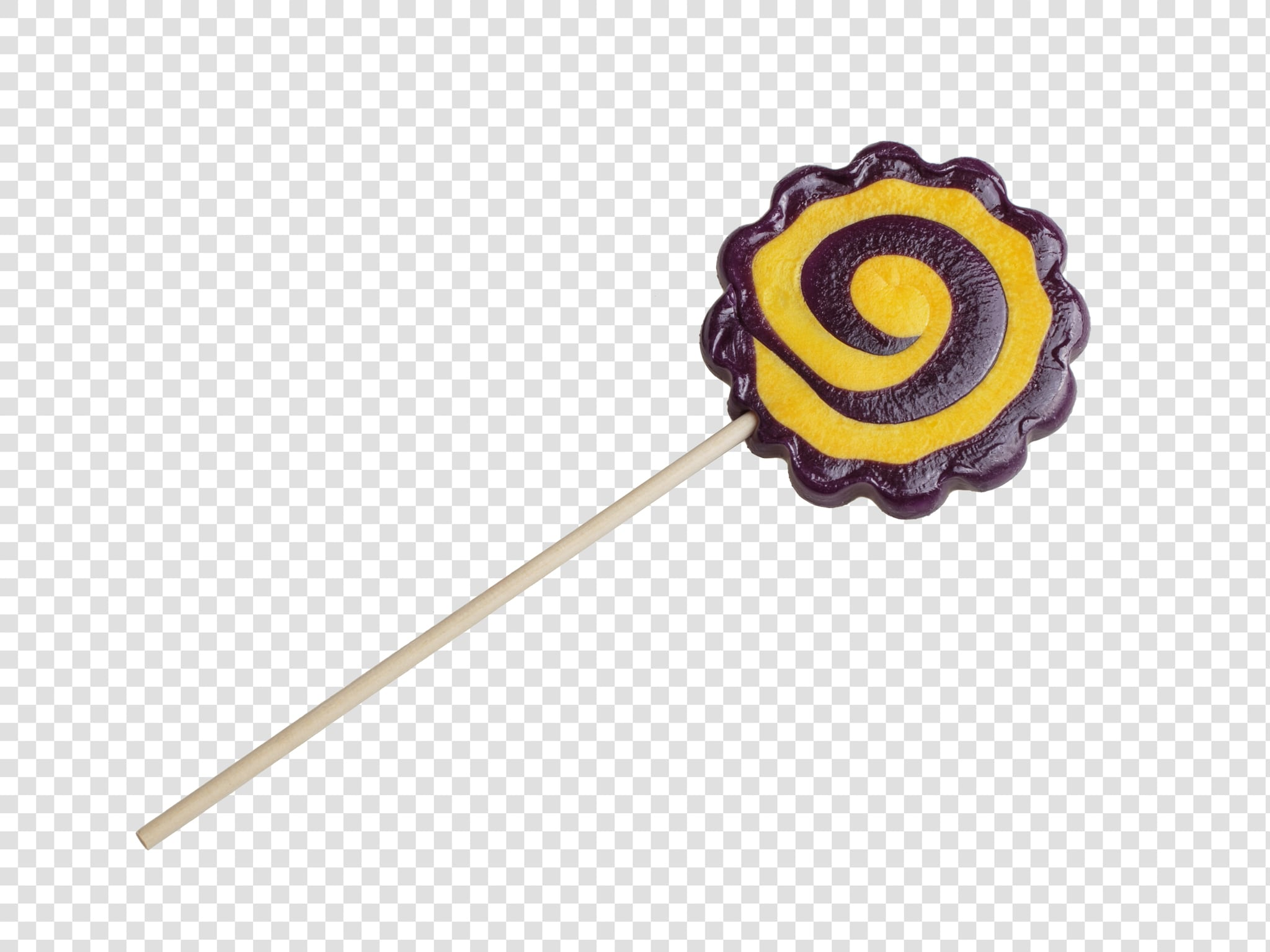 Lollipop PSD image with transparent background