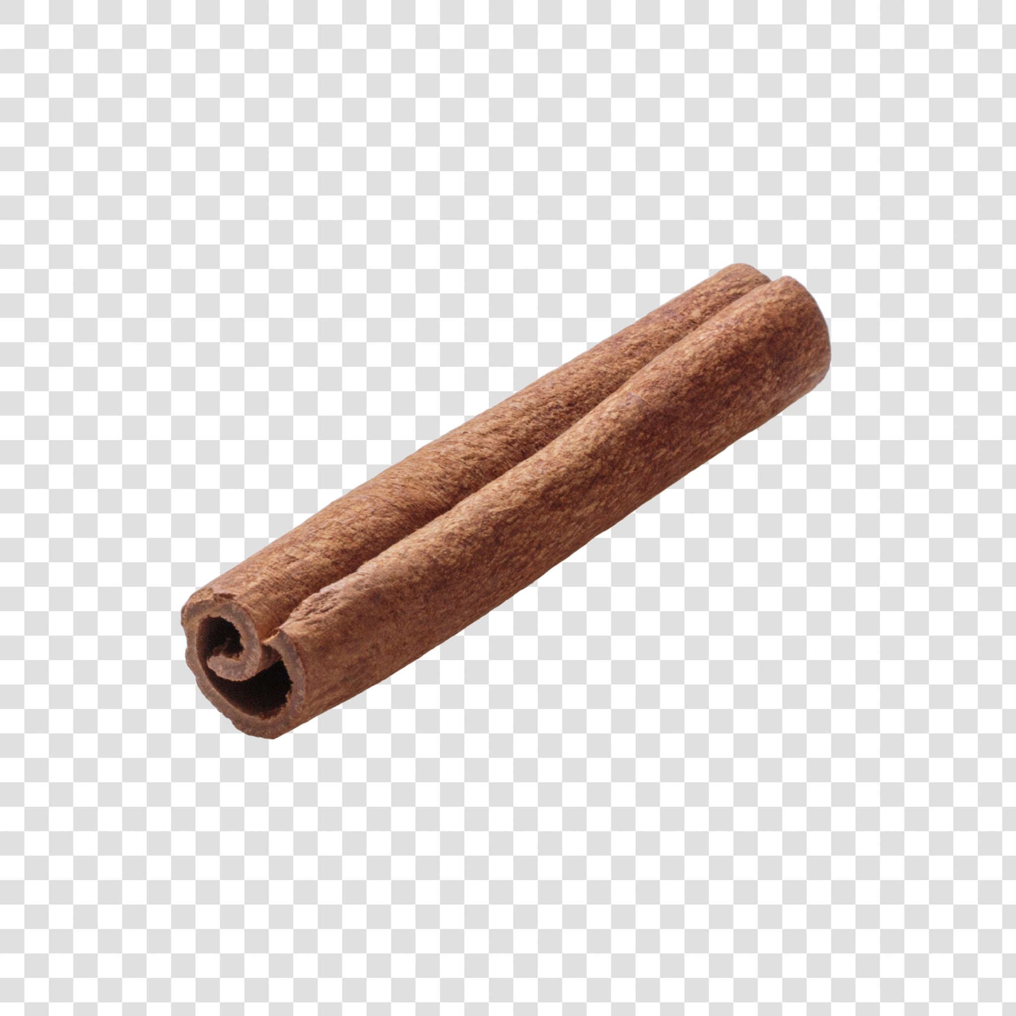 Cinnamon PSD image with transparent background