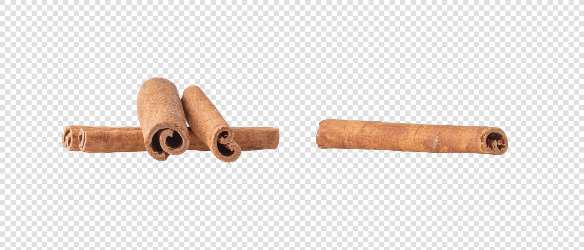 Cinnamon image asset with transparent background