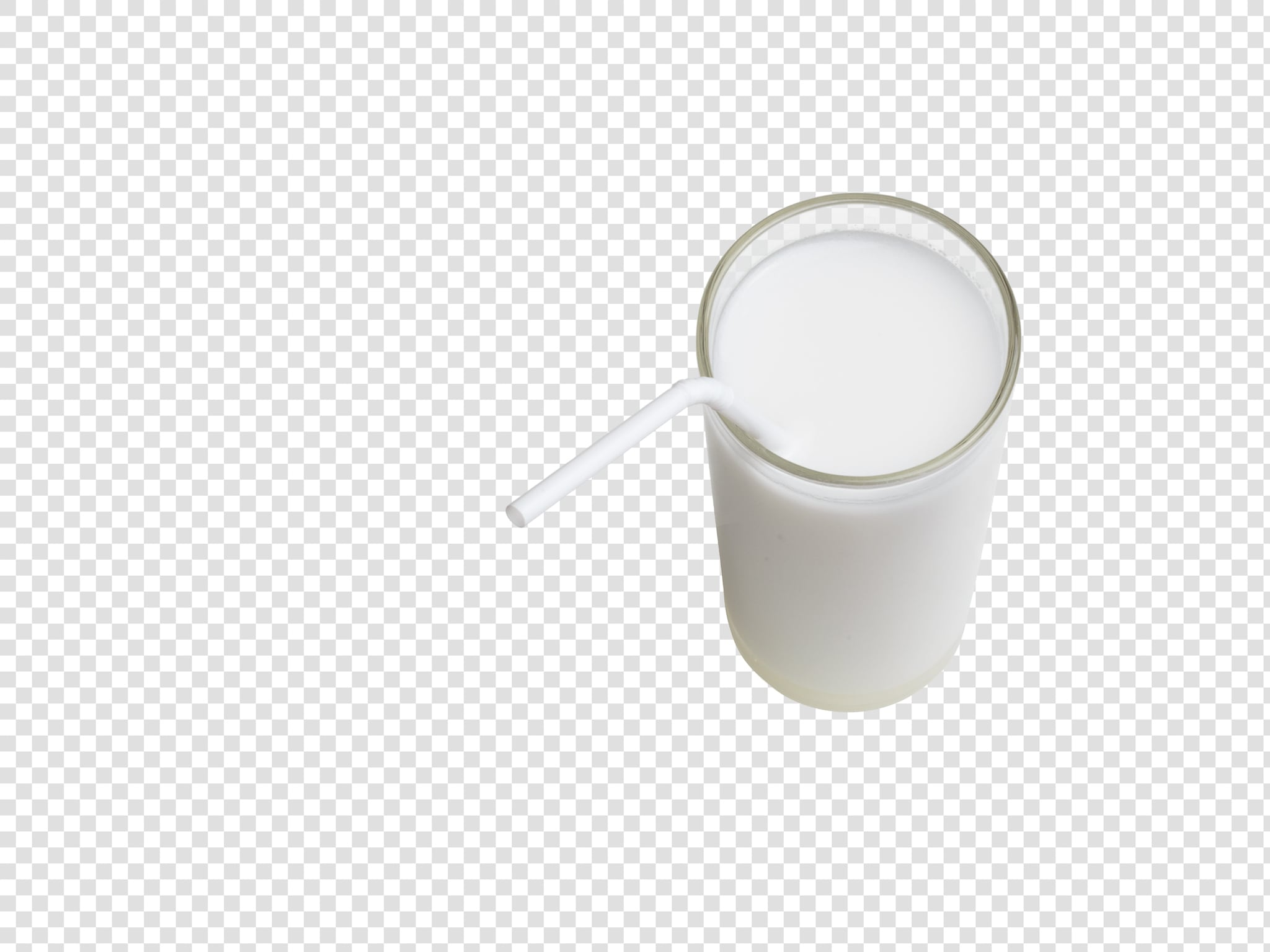 Coconut milk PSD layered image