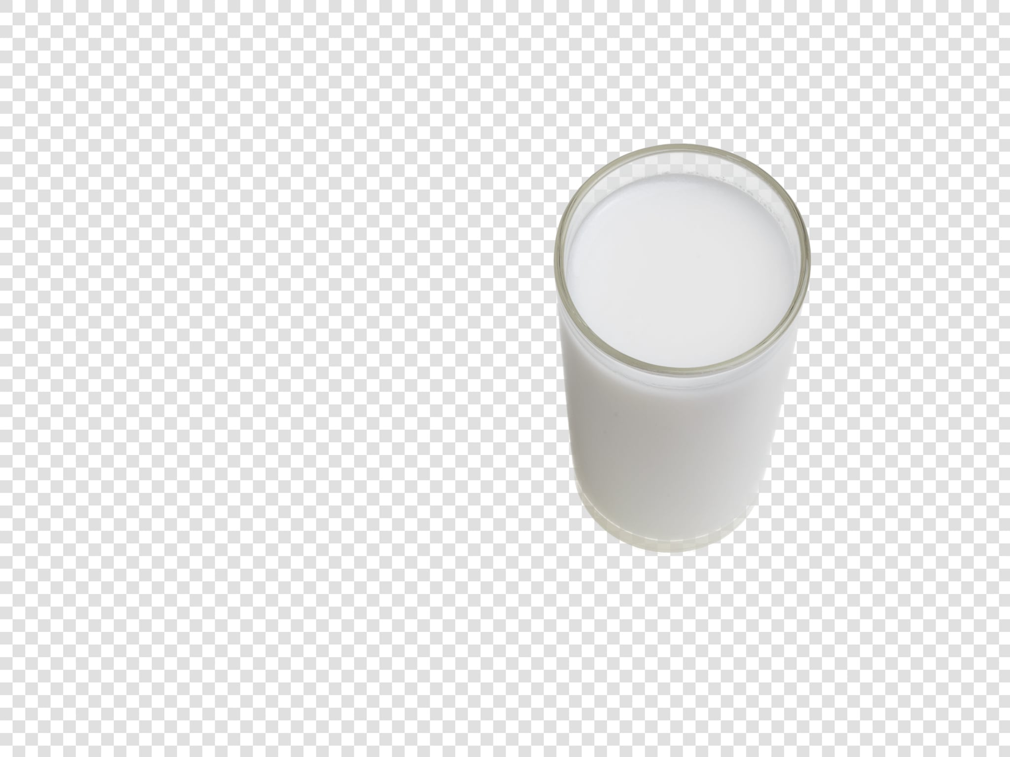 Coconut milk image with transparent background