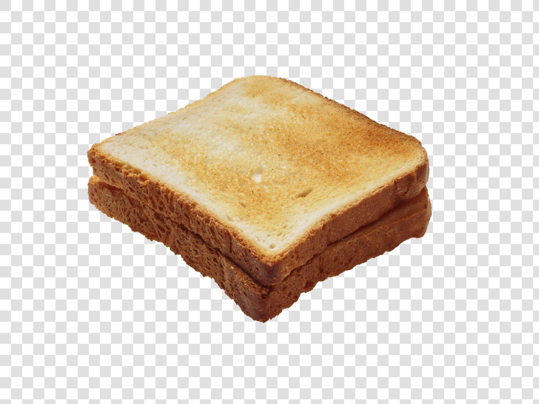 Bread PSD isolated image