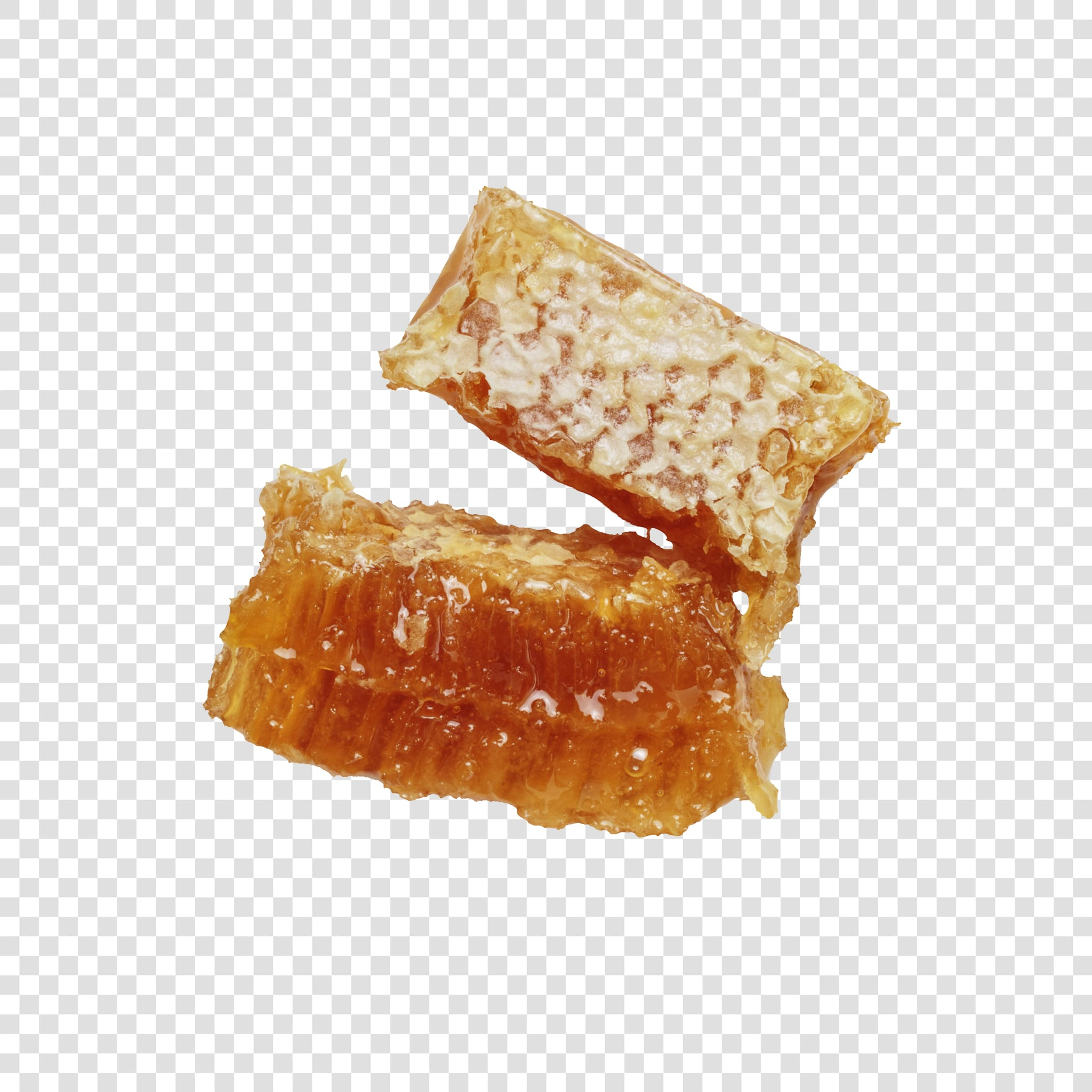 Honey PSD image with transparent background