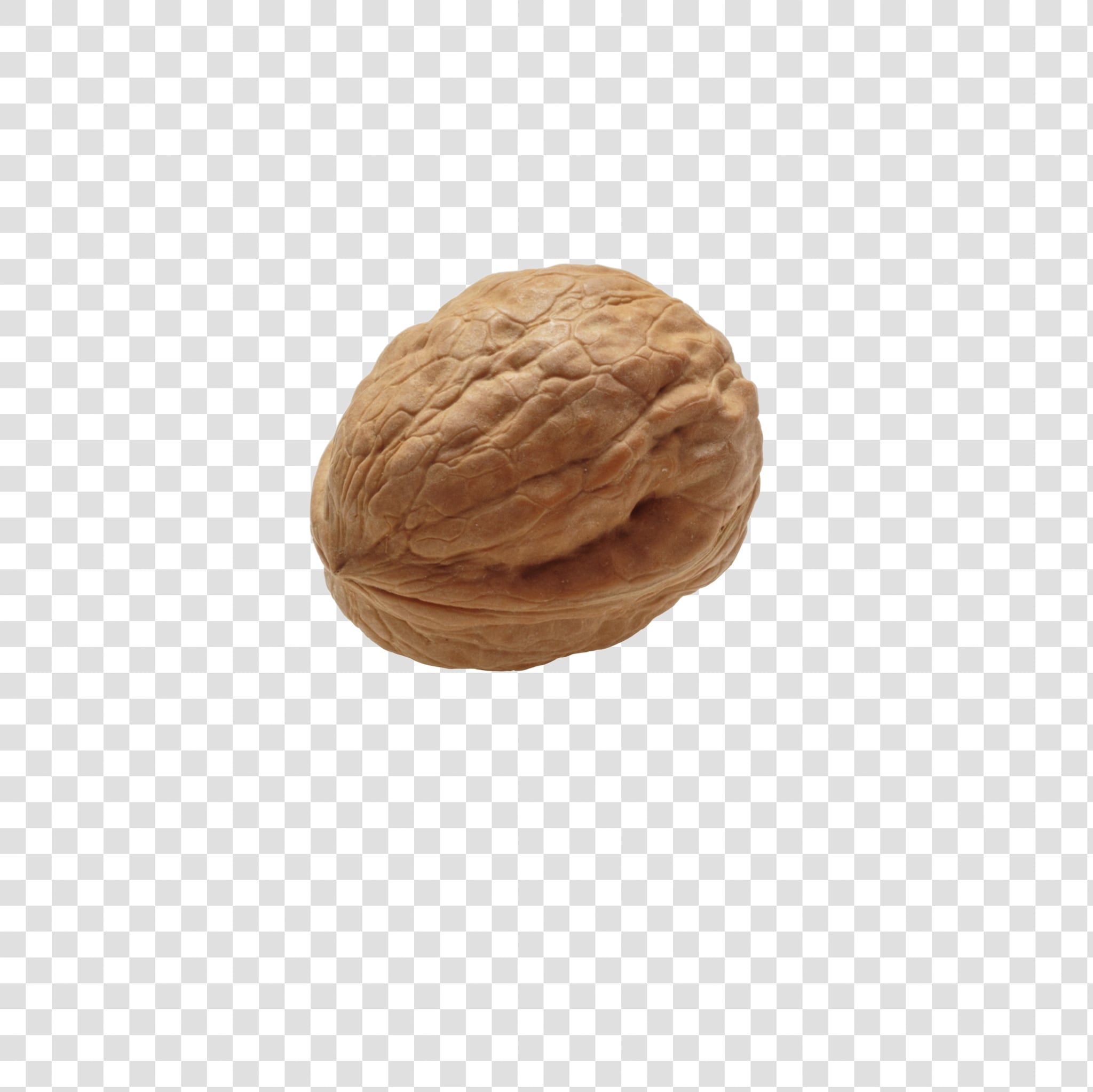Walnut image asset with transparent background