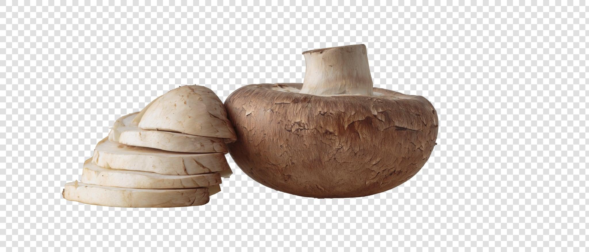 Champignon PSD isolated image