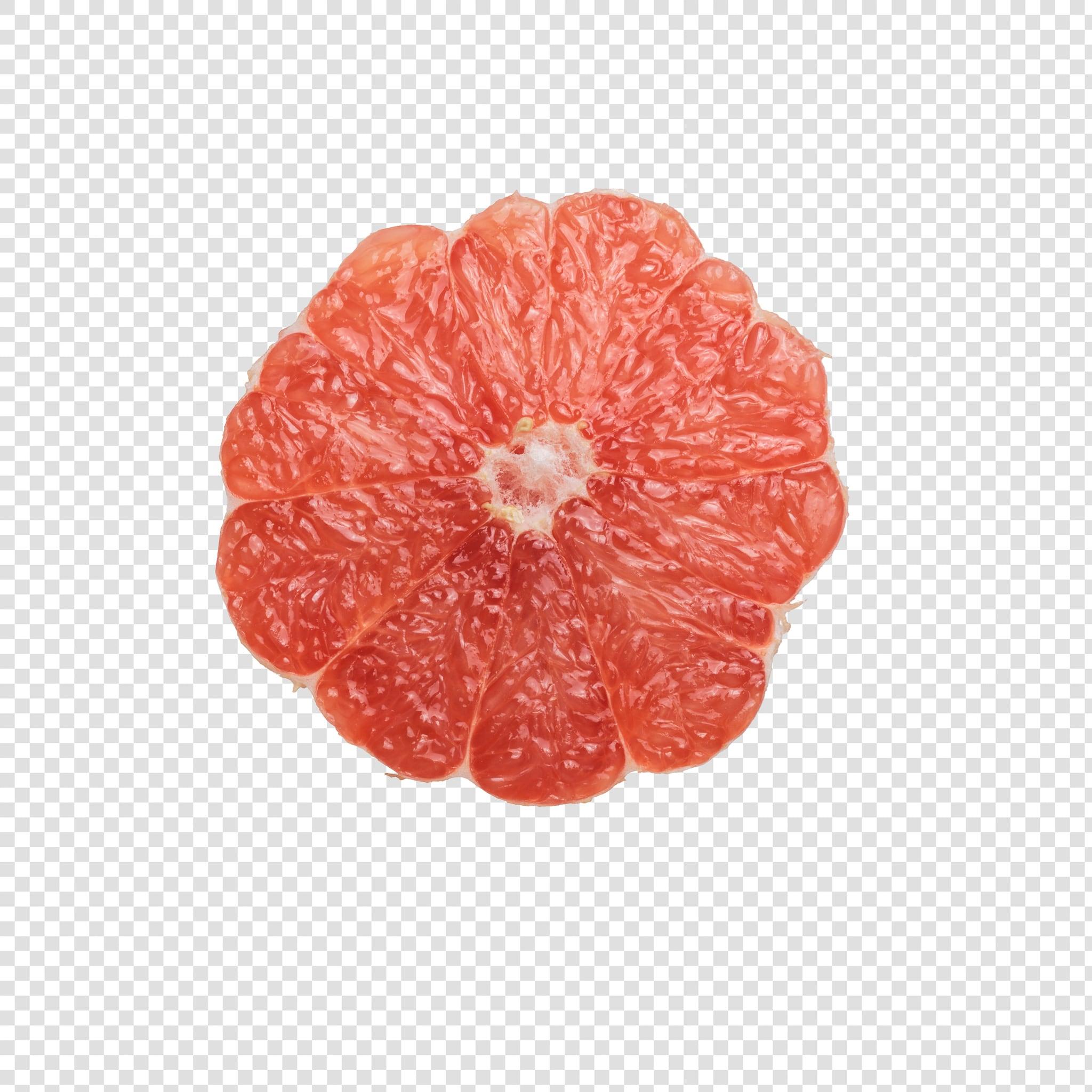 Grapefruit PSD isolated image