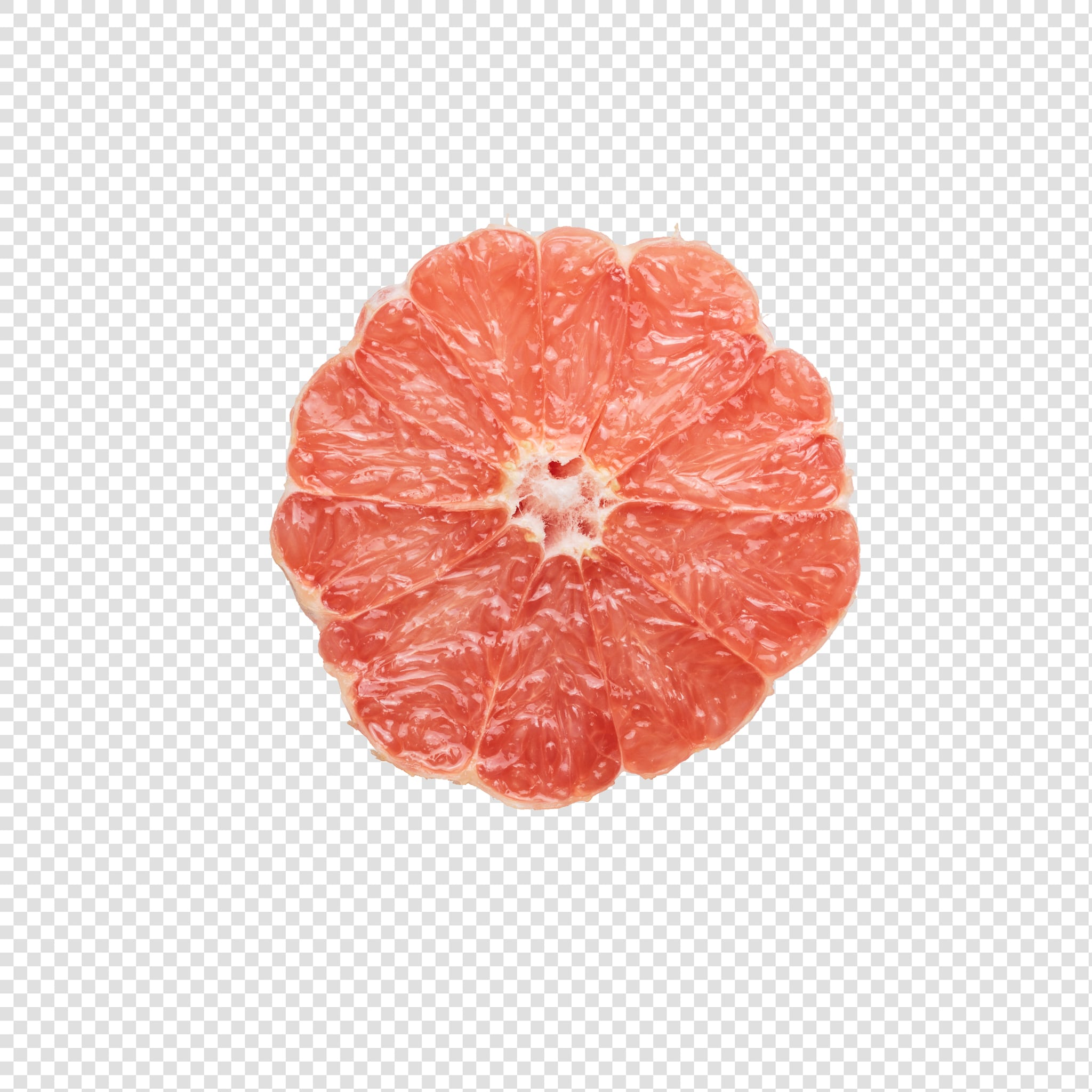 Grapefruit image with transparent background