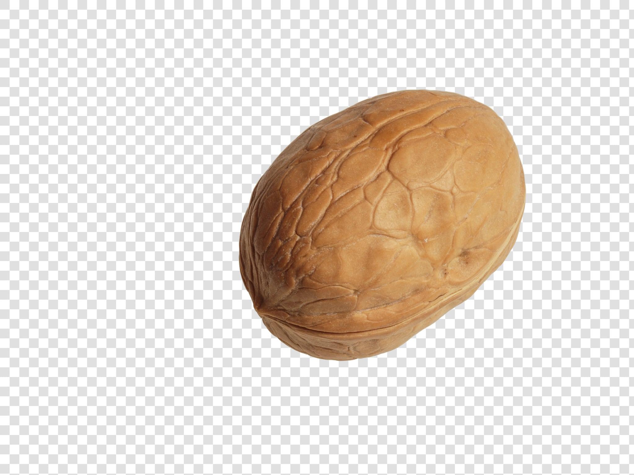 Walnut PSD isolated image