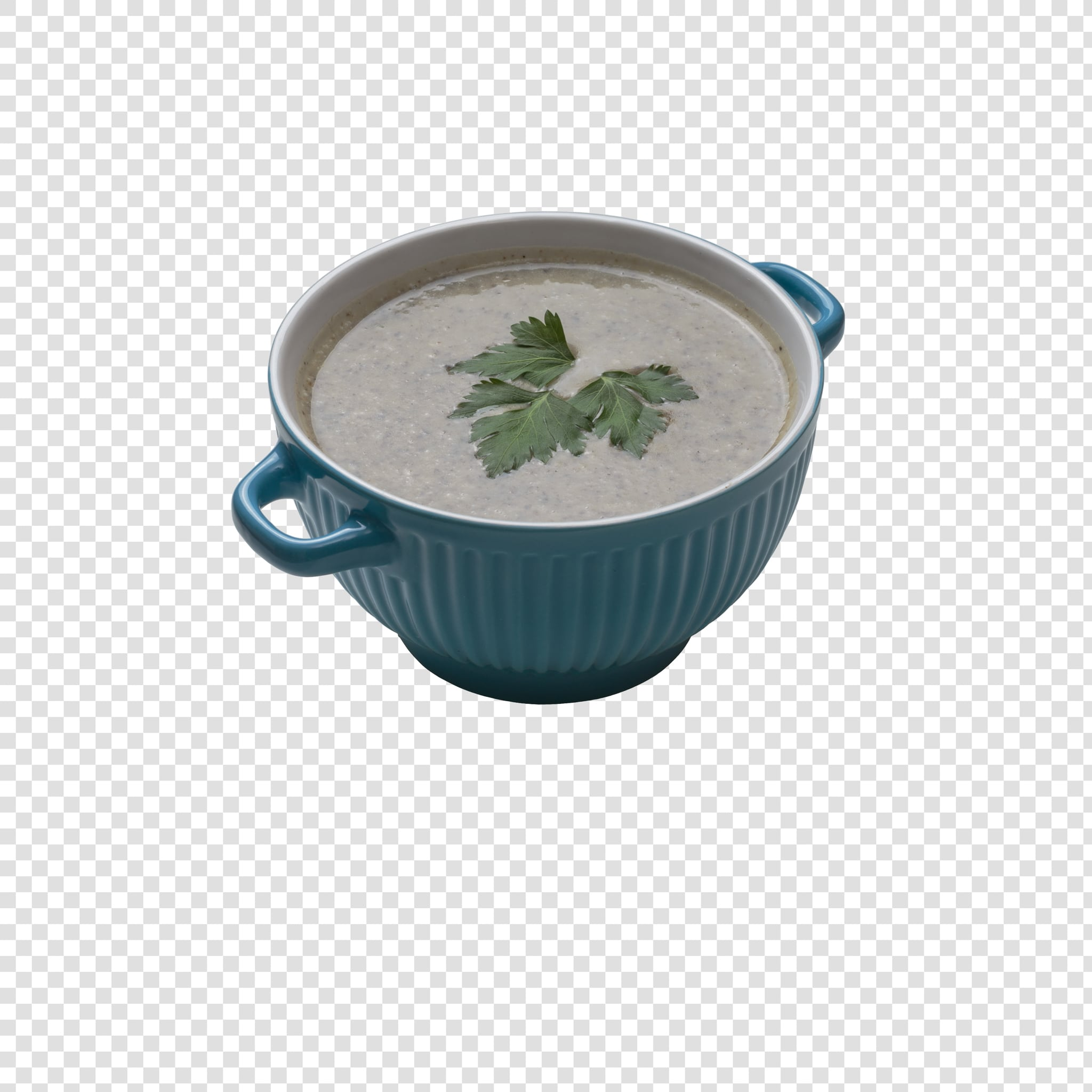 Soup PSD isolated image