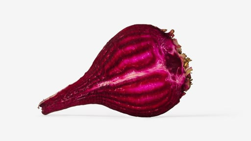 Beet PSD isolated image