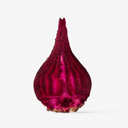 Beet image with transparent background