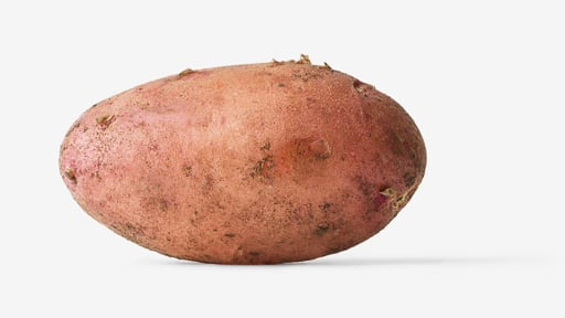 Potato PSD isolated image
