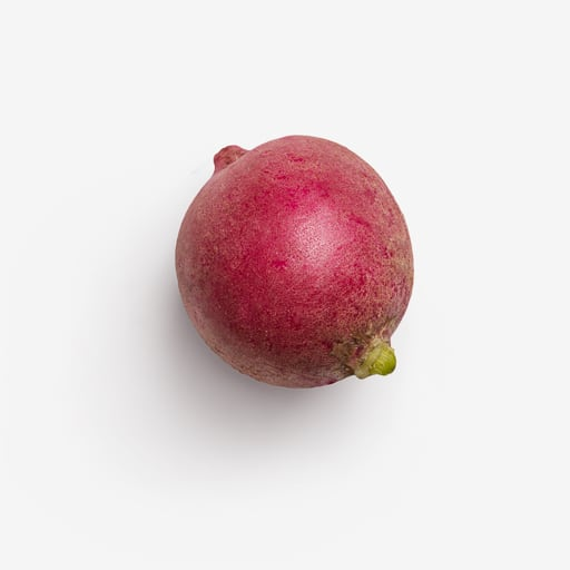 Radish PSD image with transparent background