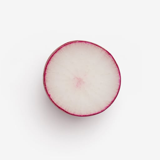 Radish image with transparent background