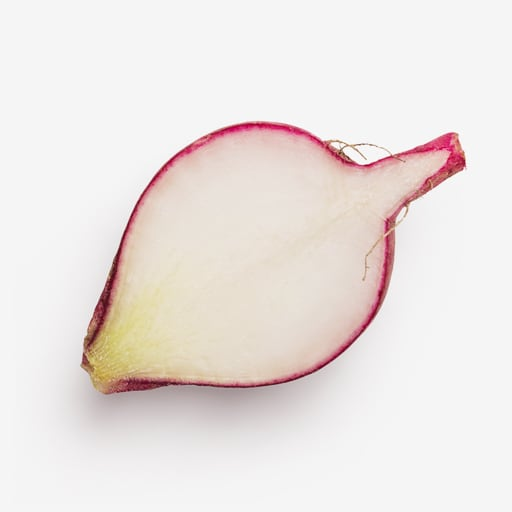 Radish image asset with transparent background