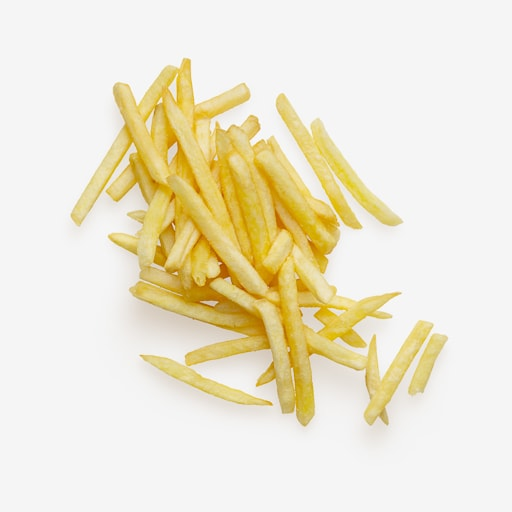 Isolated Fries psd image