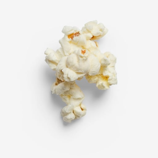 Popcorn image with transparent background