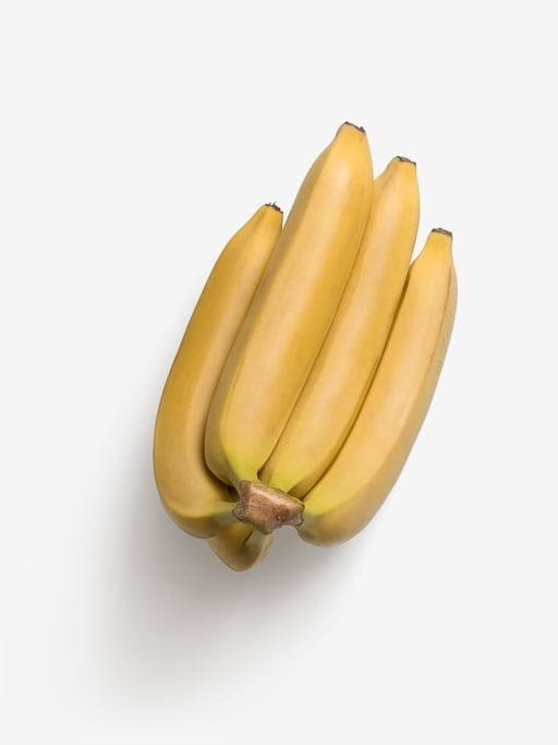 Banana image asset with transparent background