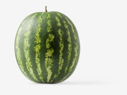 Watermelon PSD isolated image